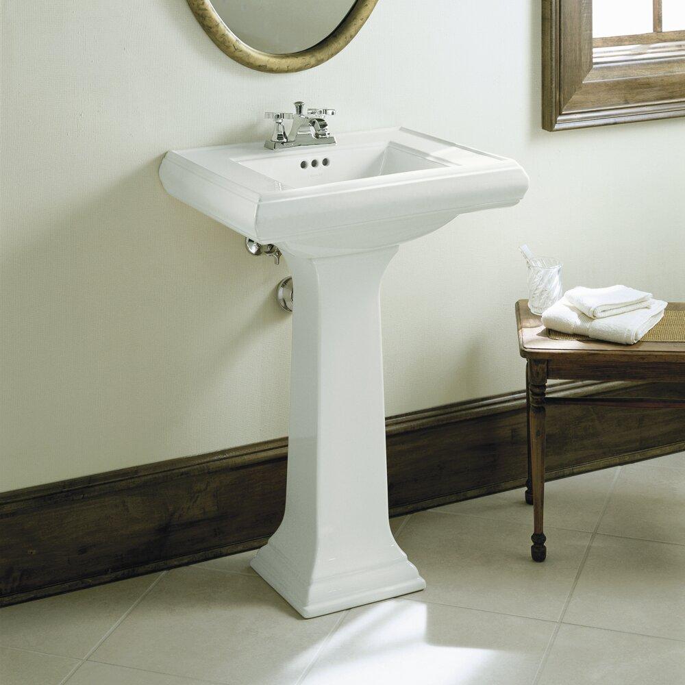 Kohler Memoirs Classic 24 Quot Pedestal Bathroom Sink
