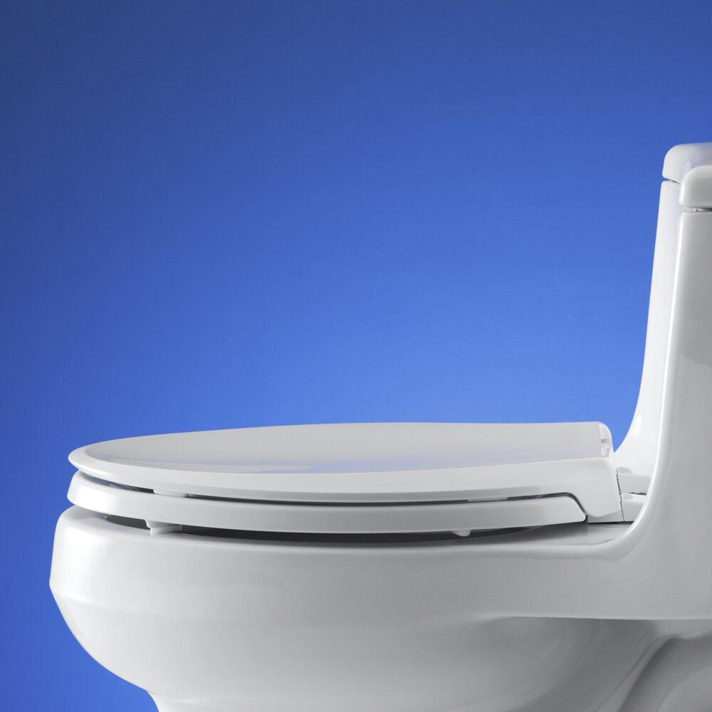 Kohler Quiet Close Elongated Toilet Seat Kohler Cachet