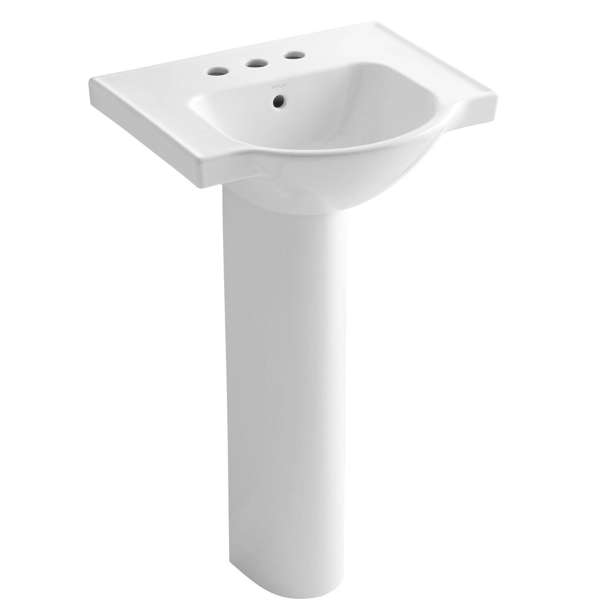Kohler Small Pedestal Sink : Kohler Small Bathroom Sinks Picturesque Kohler Bathroom Sinks Pedestal ...