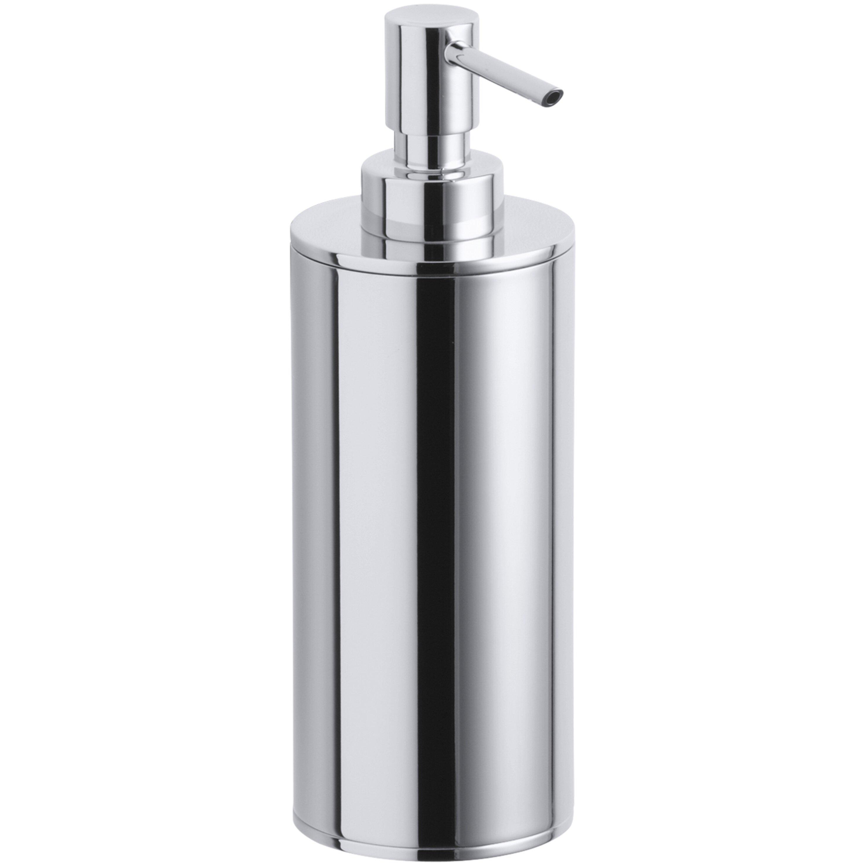 Kohler purist countertop soap lotion dispenser reviews wayfair - Kohler soap lotion dispenser ...