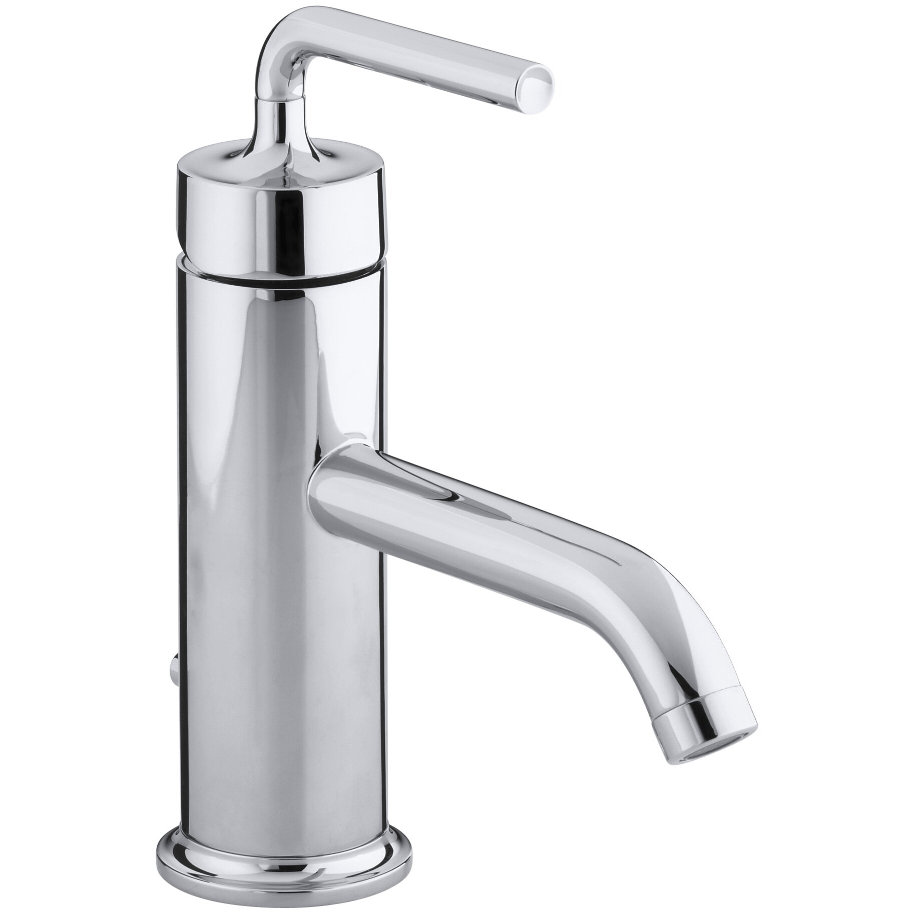 Single Hole Tub Faucet : Purist Single-Hole Bathroom Sink Faucet with Straight Lever Handle by ...
