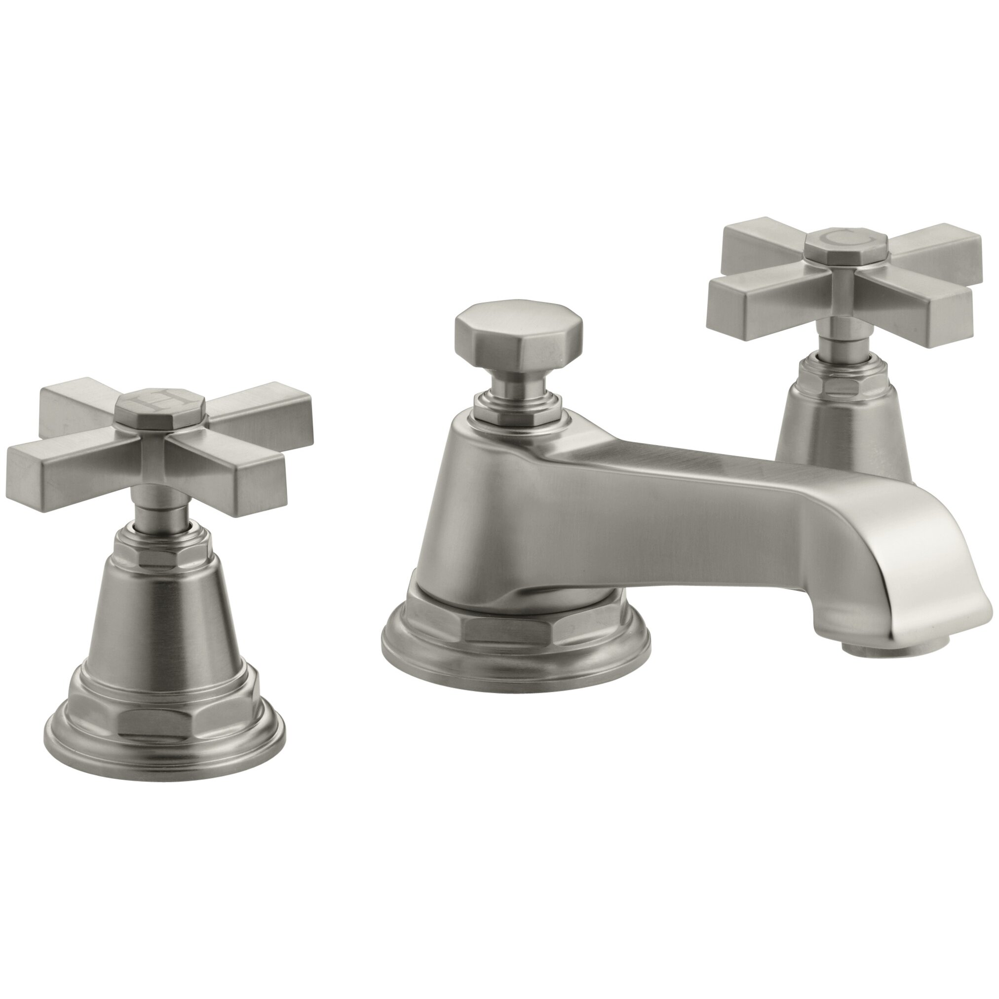Kohler Faucet Reviews : ... Pure Widespread Bathroom Sink Faucet with Cross Handles by Kohler