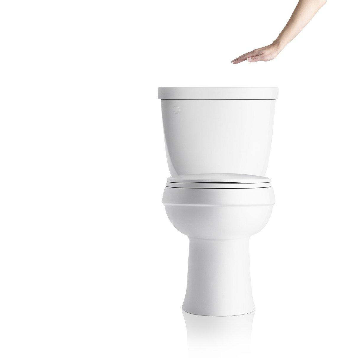 kohler touchless toilet flush kit u0026 reviews wayfair