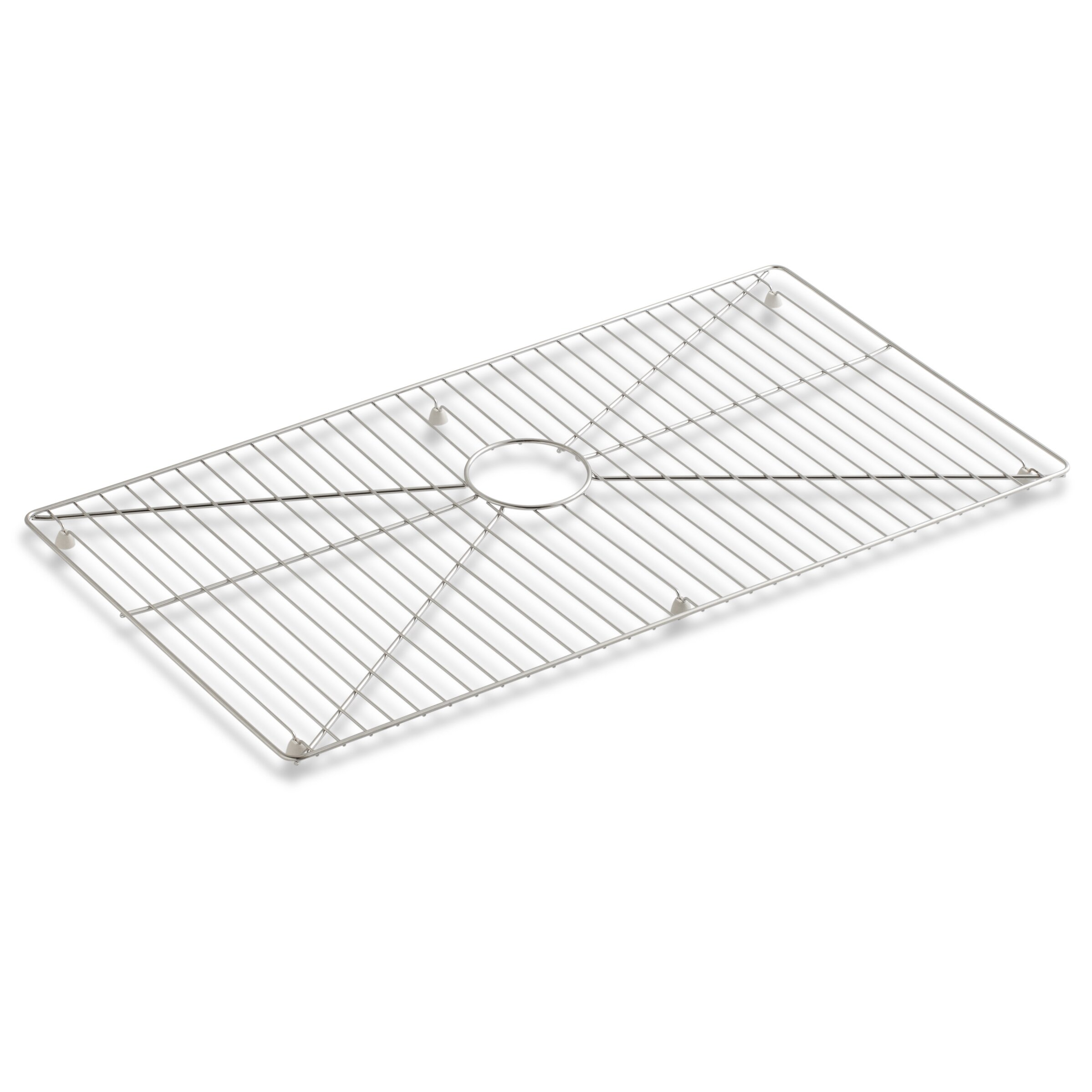 Kohler Stainless Apron Sink : Kohler Vault /Strive Stainless Steel Sink Rack, 32