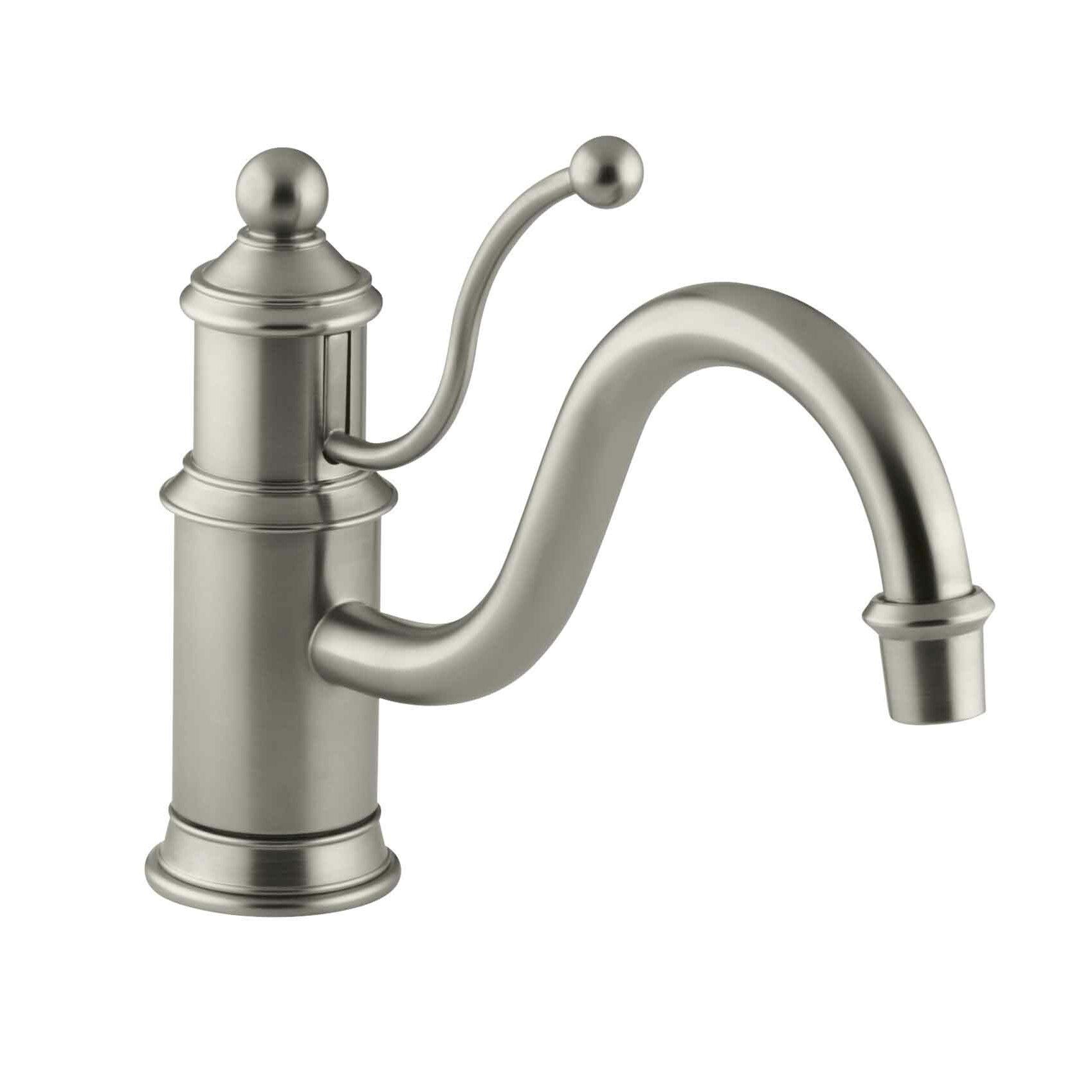 Kohler Antique Kitchen Faucet: Kohler Antique Single-Hole Kitchen Sink Faucet With 8-7/8