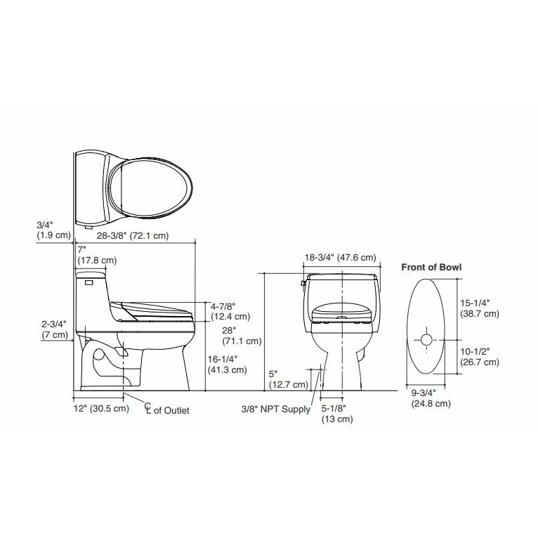 One Piece Toilets Comfort Height Kohler K Products Best