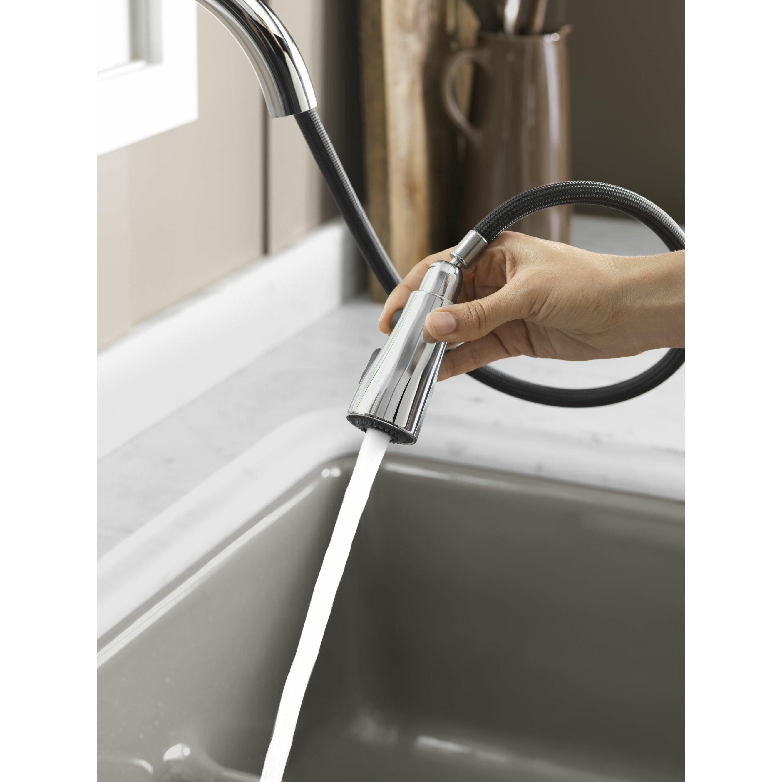 kohler simplice kitchen faucet reset surface swipe brush kohler coralais single hole or three hole kitchen sink