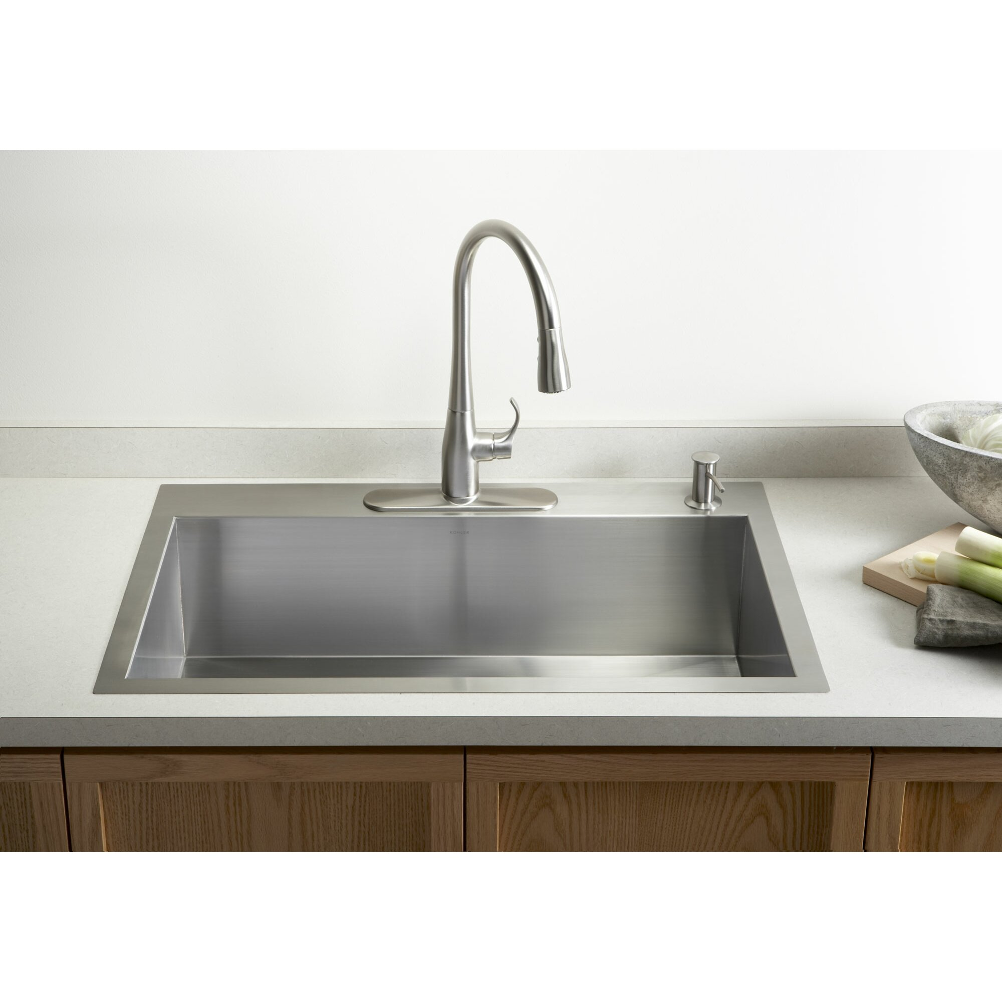 ... Stainless Steel Kitchen Sinks 7 Sinks Top Mount Photos House. Yive.co