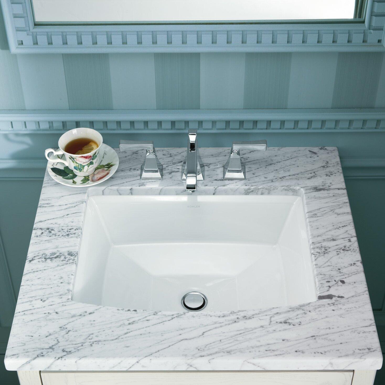 Kohler Archer Undermount Bathroom Sink & Reviews Wayfair