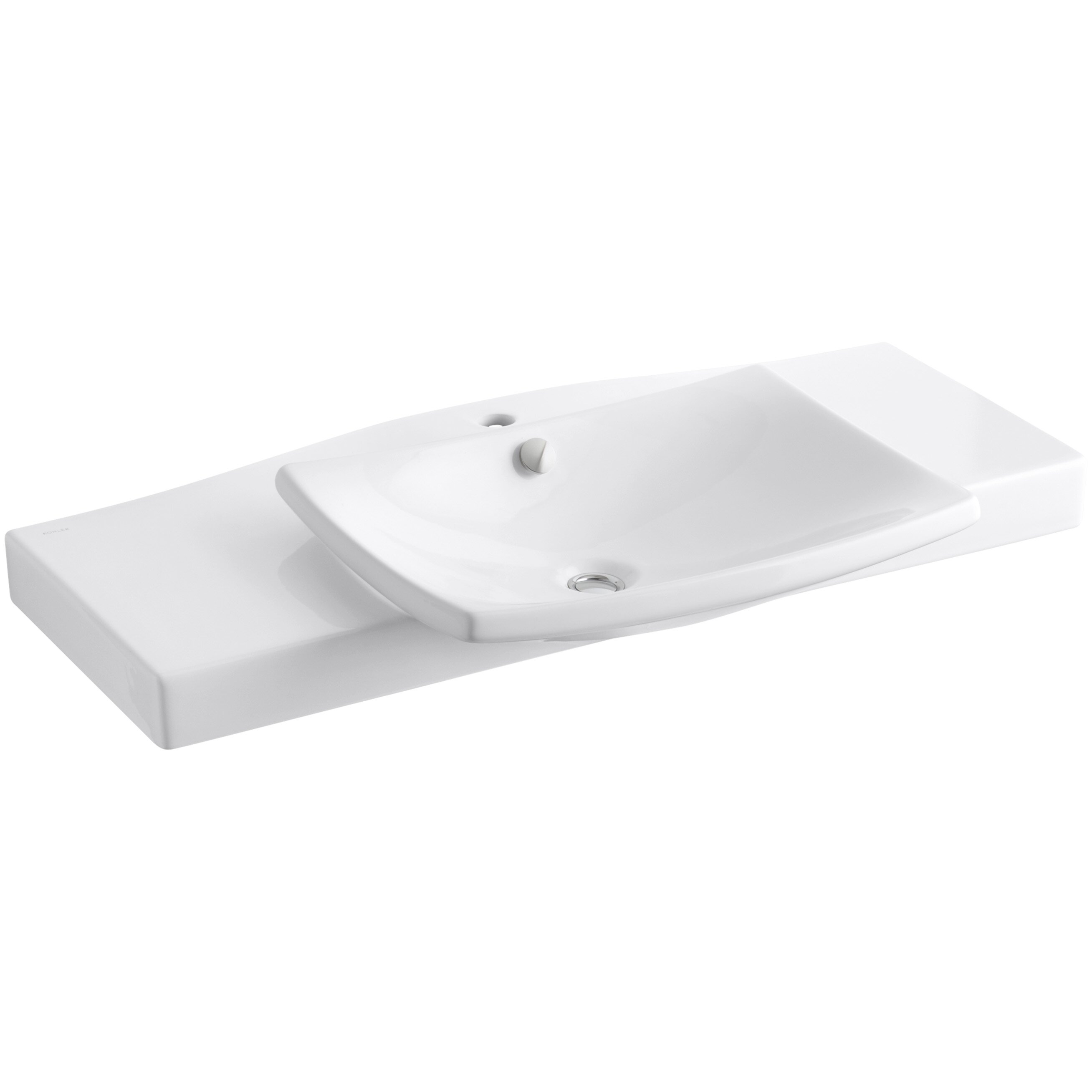kohler square bathroom sink kohler escale pedestal or vanity top bathroom sink with 19034