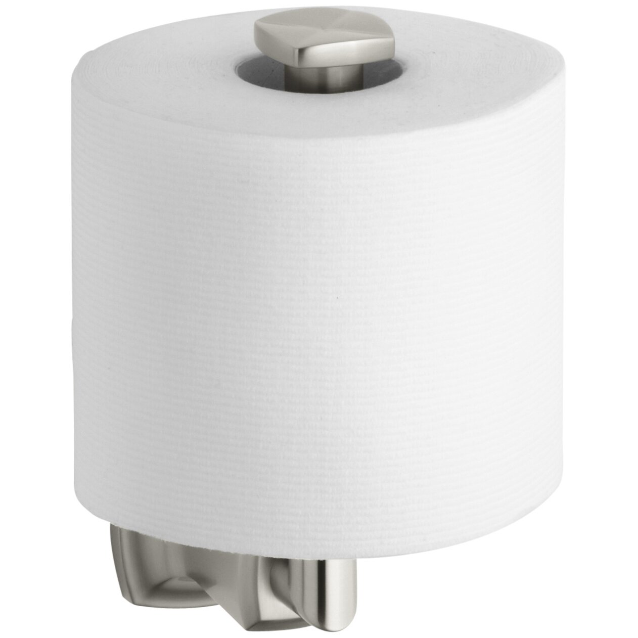 kohler margaux vertical toilet tissue holder reviews wayfair. Black Bedroom Furniture Sets. Home Design Ideas