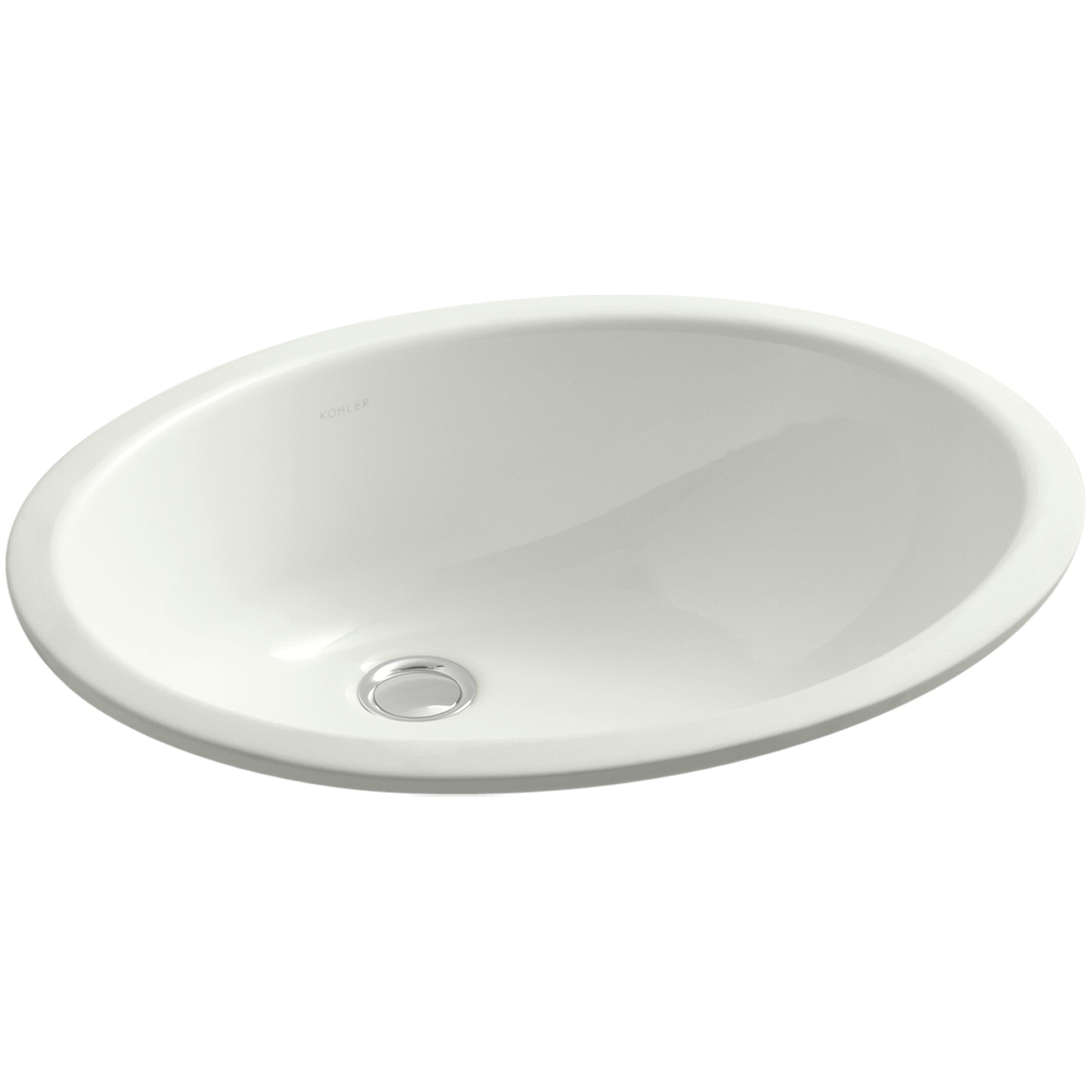 Kohler Caxton Undermount Bathroom Sink With Overflow And Clamp Assembly Reviews Wayfair