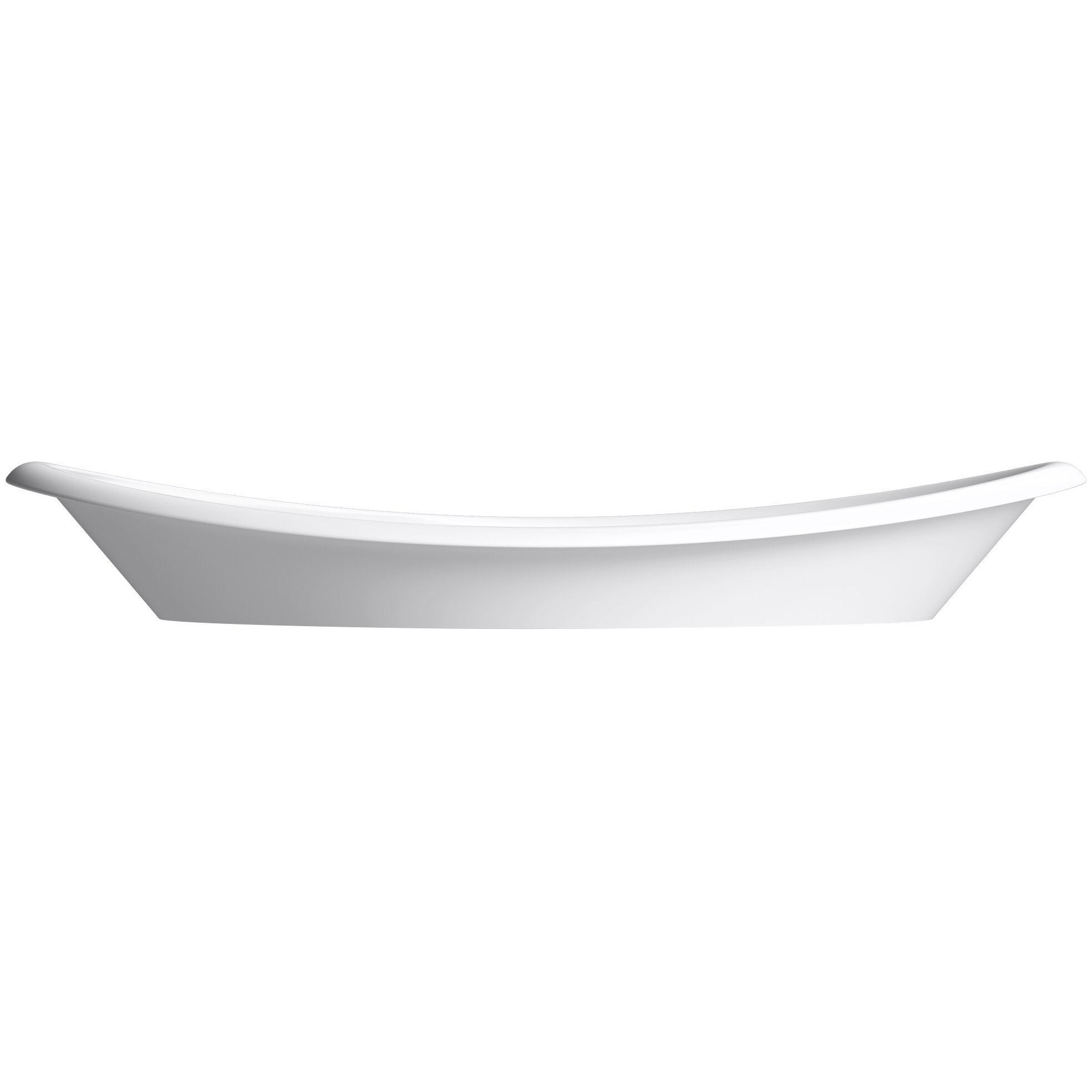 Kohler Iron Plains Wading Pool Oval Bathroom Sink With