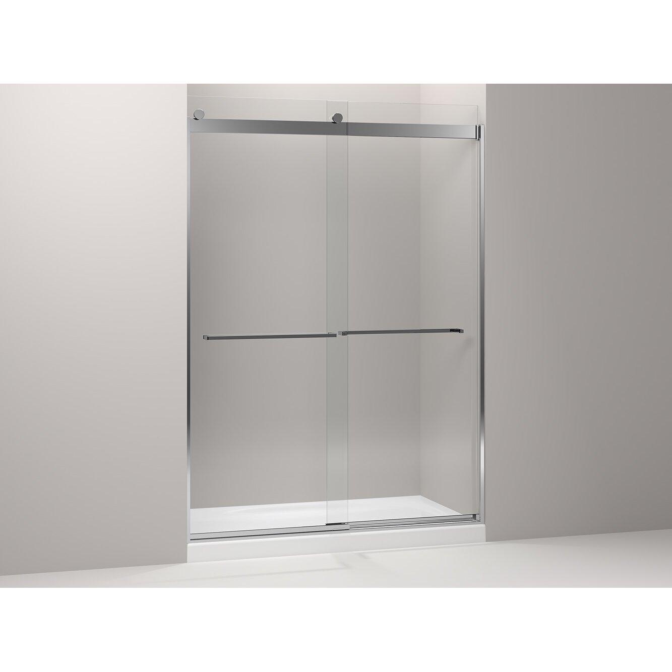 Kohler Levity Sliding Shower Door Amp Reviews Wayfair