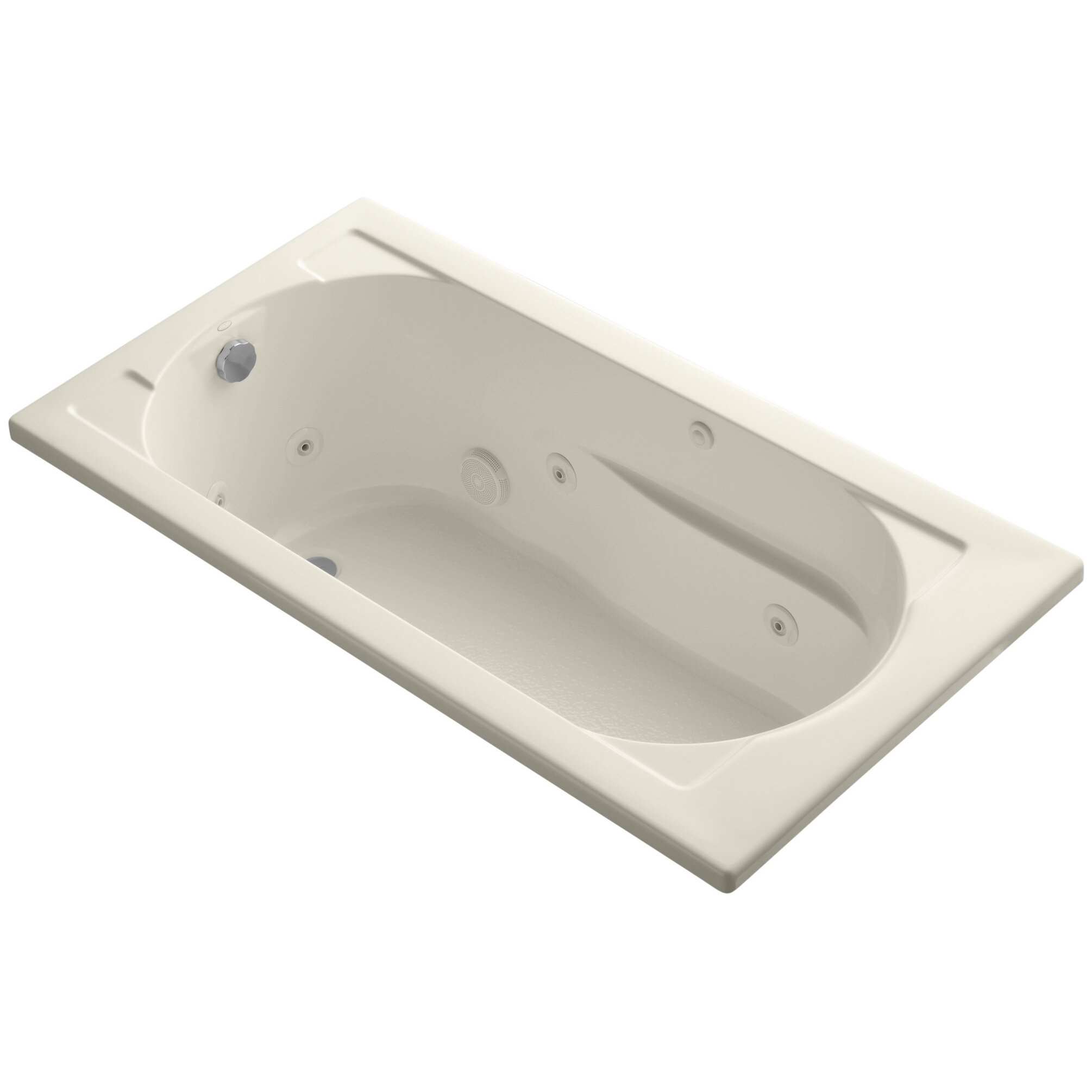 Kohler devonshire 60 x 32 whirlpool bathtub reviews wayfair - Kohler devonshire reviews ...