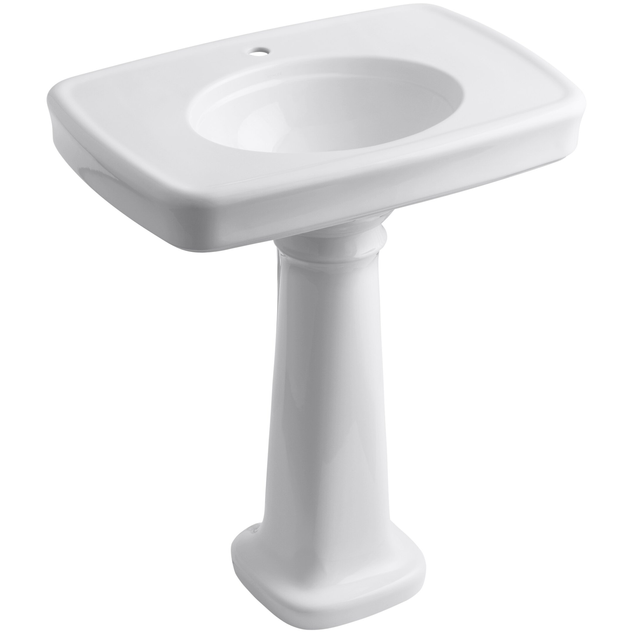 Kohler Bancroft 30 Pedestal Bathroom Sink Reviews Wayfair