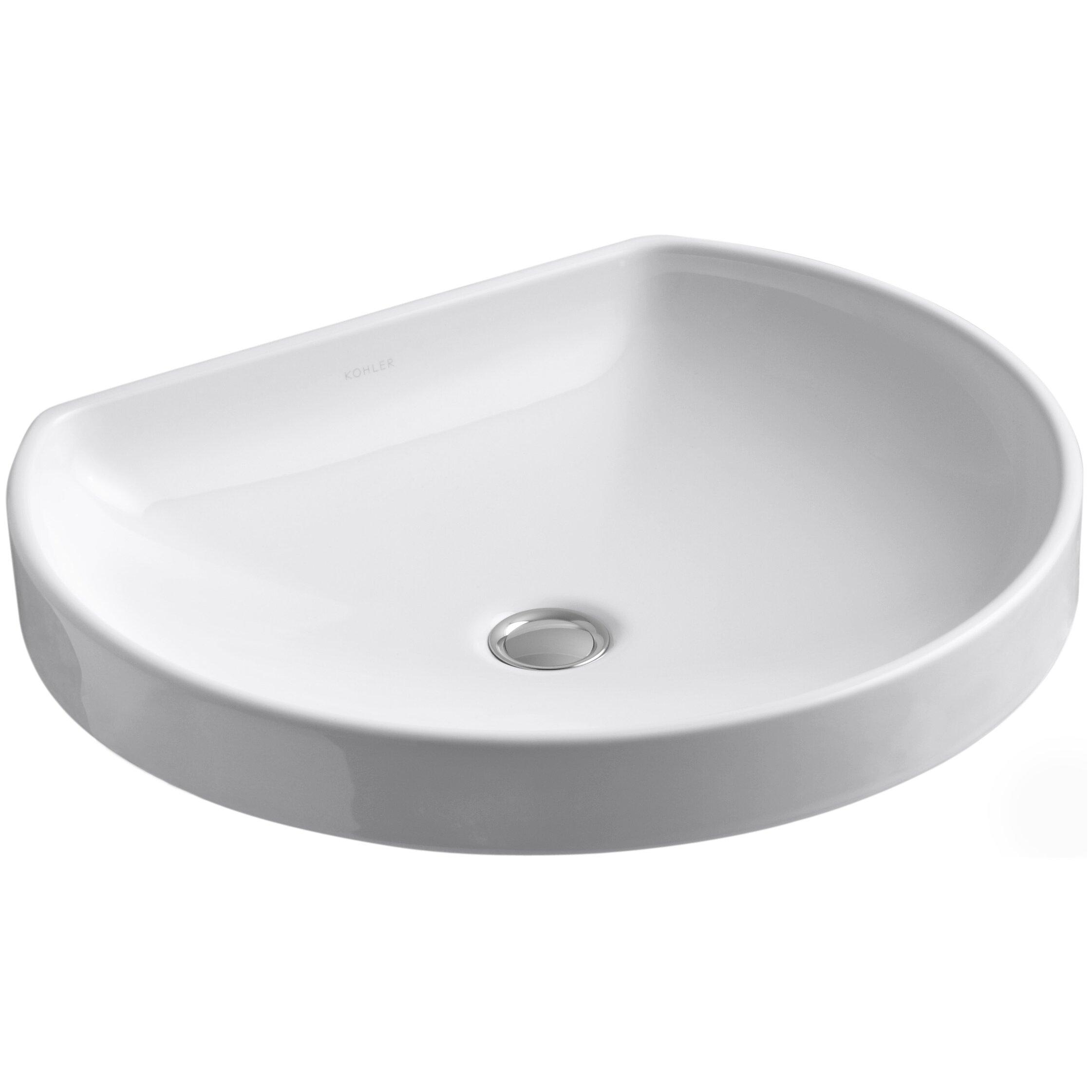 Kohler Watercove Wading Pool Drop In Bathroom Sink