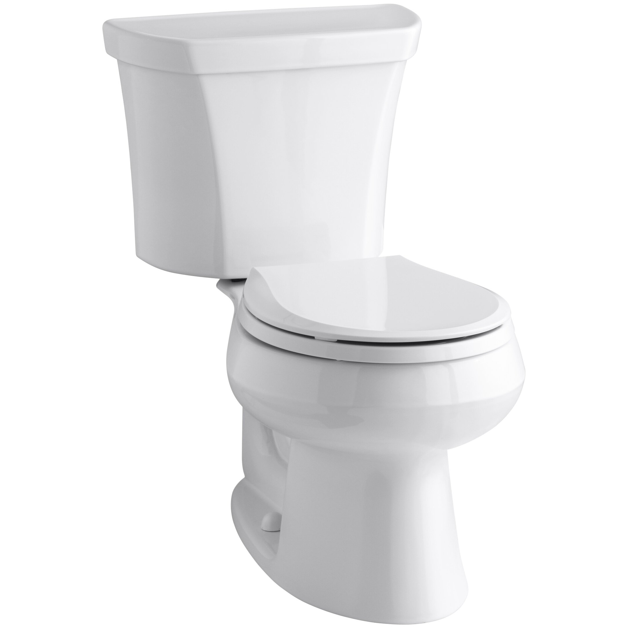 Kohler Wellworth Wellworth Two Piece Round Front Dual