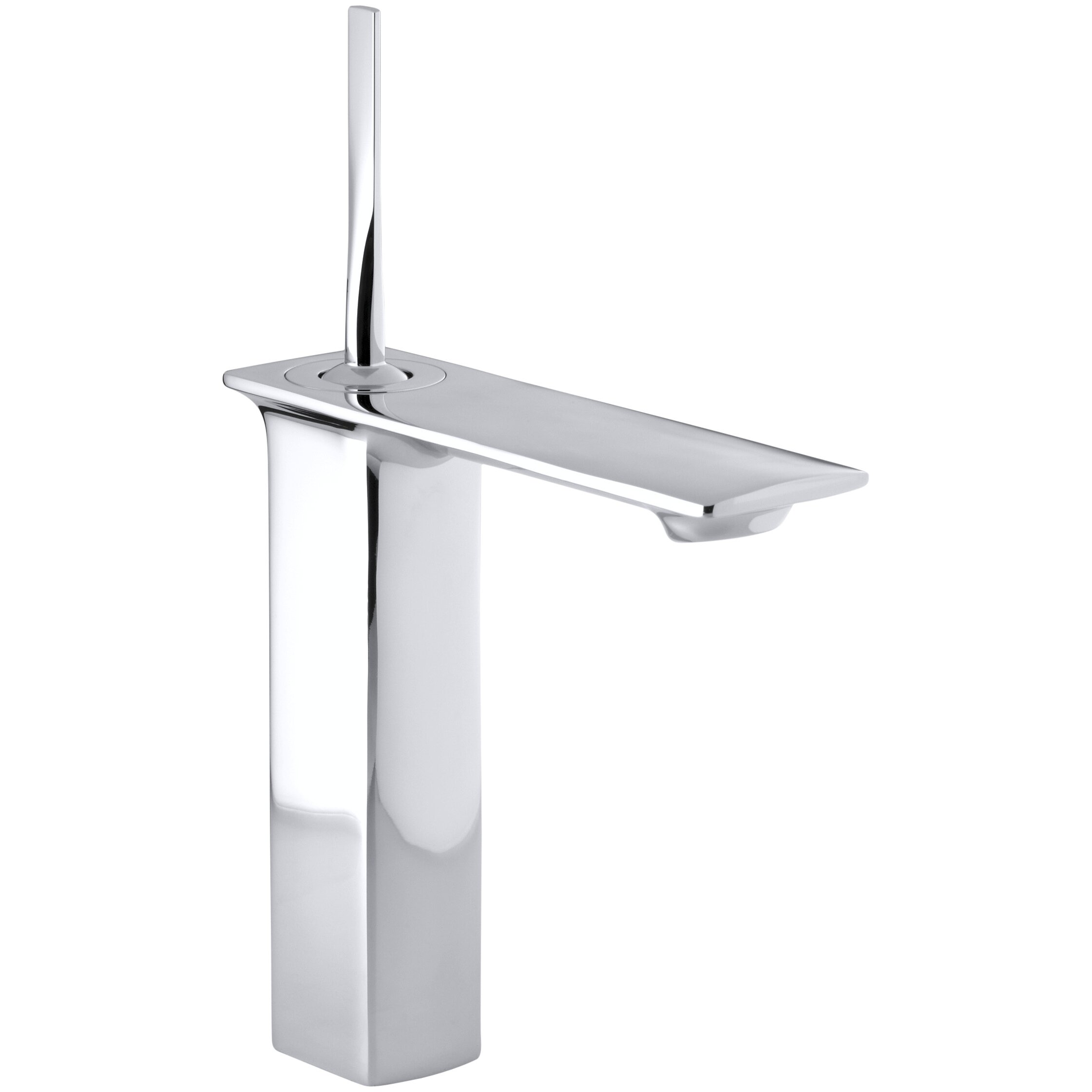 Kohler Stance Tall Single Hole Bathroom Sink Faucet  : Kohler Stance Tall Single Hole Bathroom Faucet with Single Lever Handle 14761 4 from www.wayfair.com size 2241 x 2241 jpeg 146kB