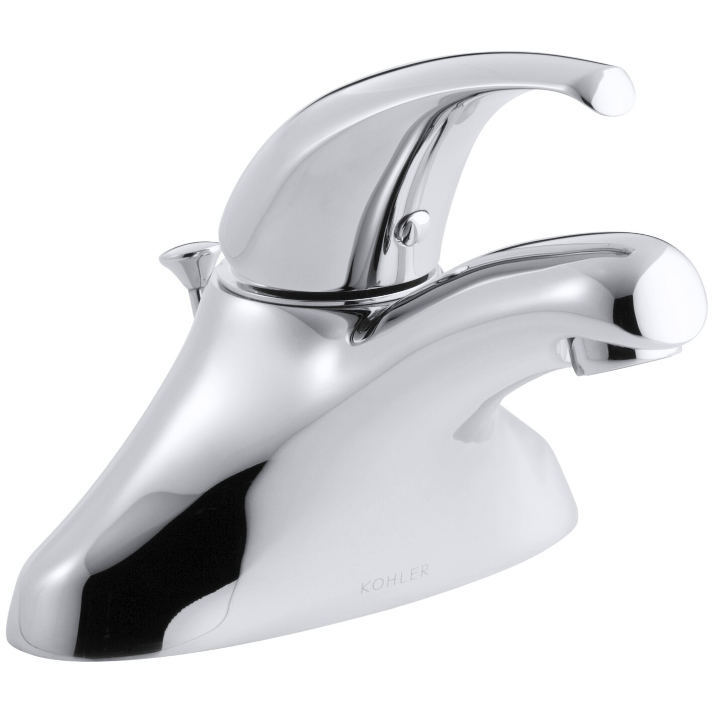 Kohler Coralais Centerset Bathroom Faucet With Single