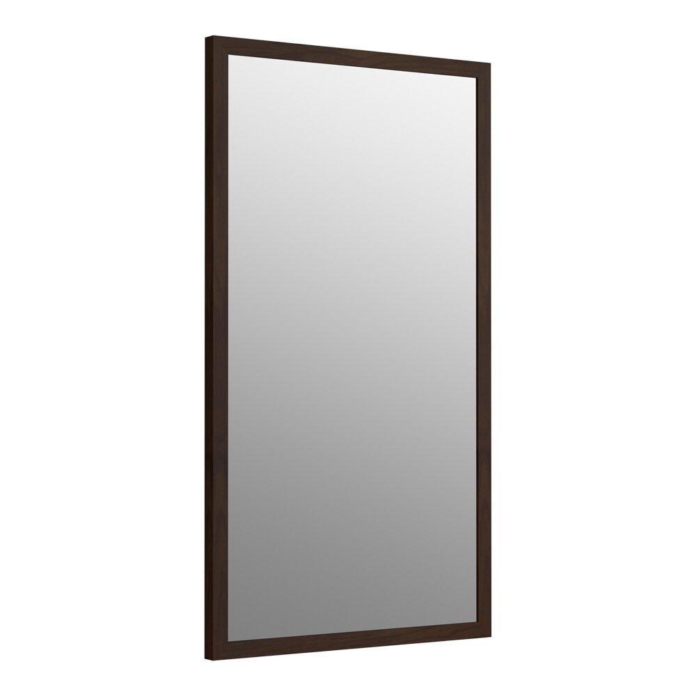 Kohler jacquard framed mirror reviews wayfair for Mirror framed mirror