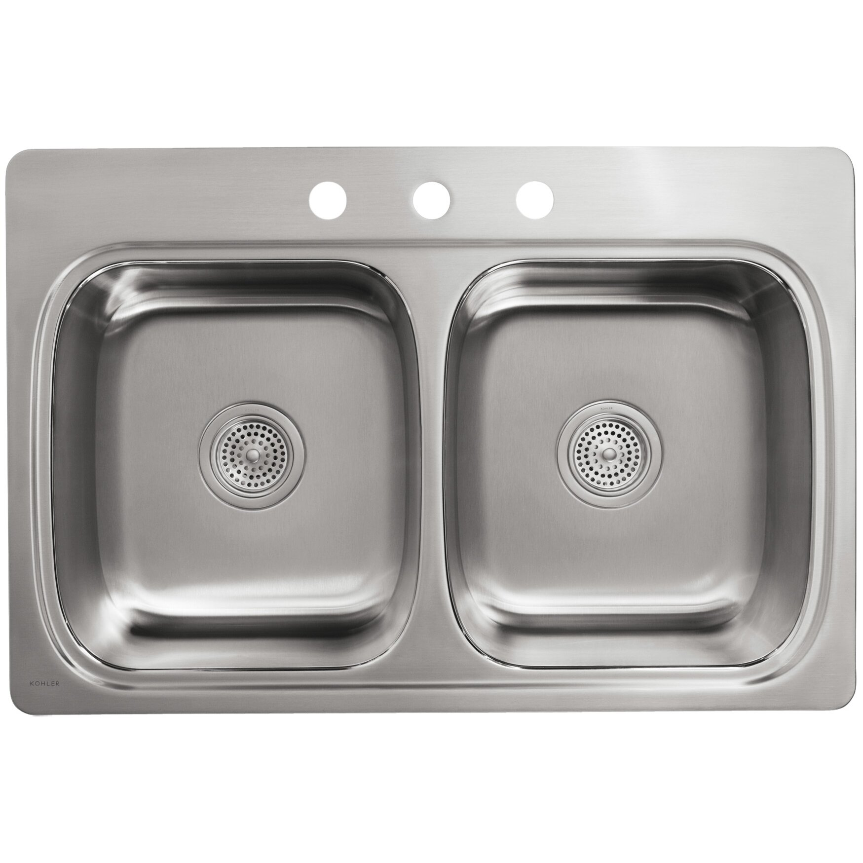 Kohler Verse Double Bowl Kitchen Sink