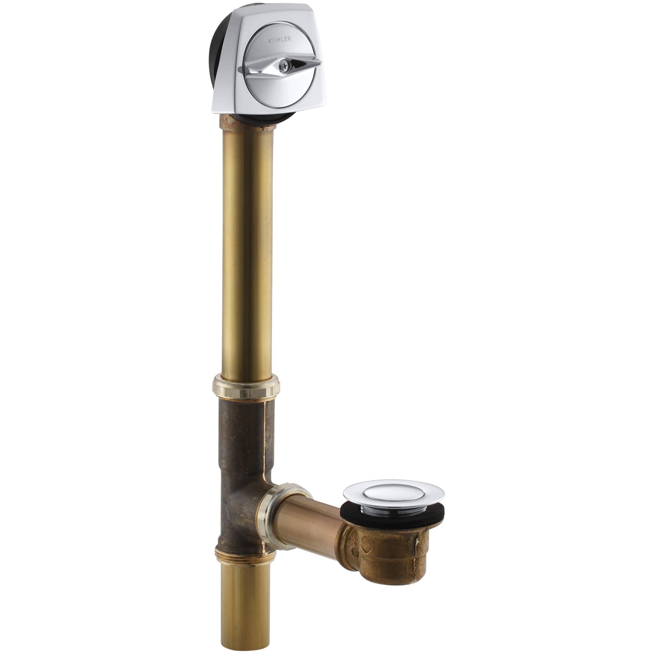 Kohler Clearflo 1 1 2 Adjustable Trip Lever Tub Drain