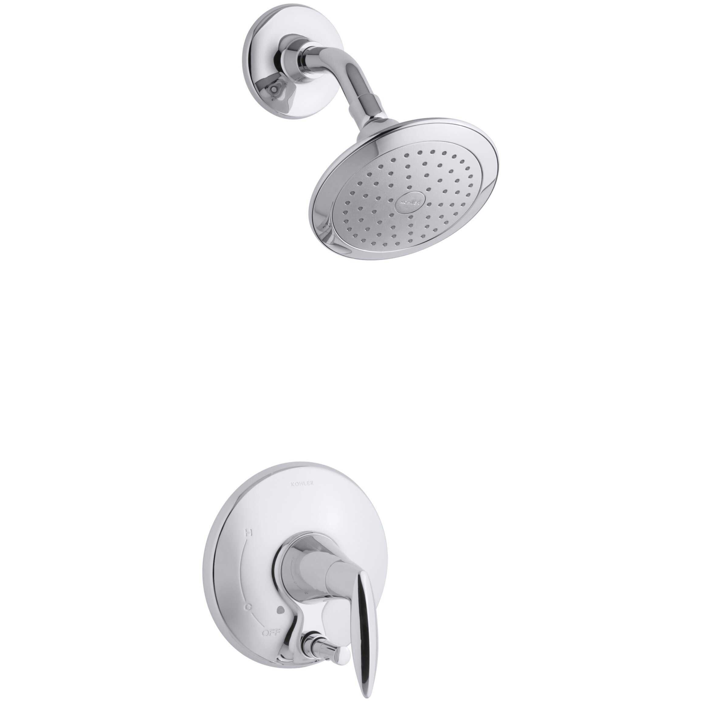 Kohler Alteo Shower Faucet Trim With Metal Lever Handle