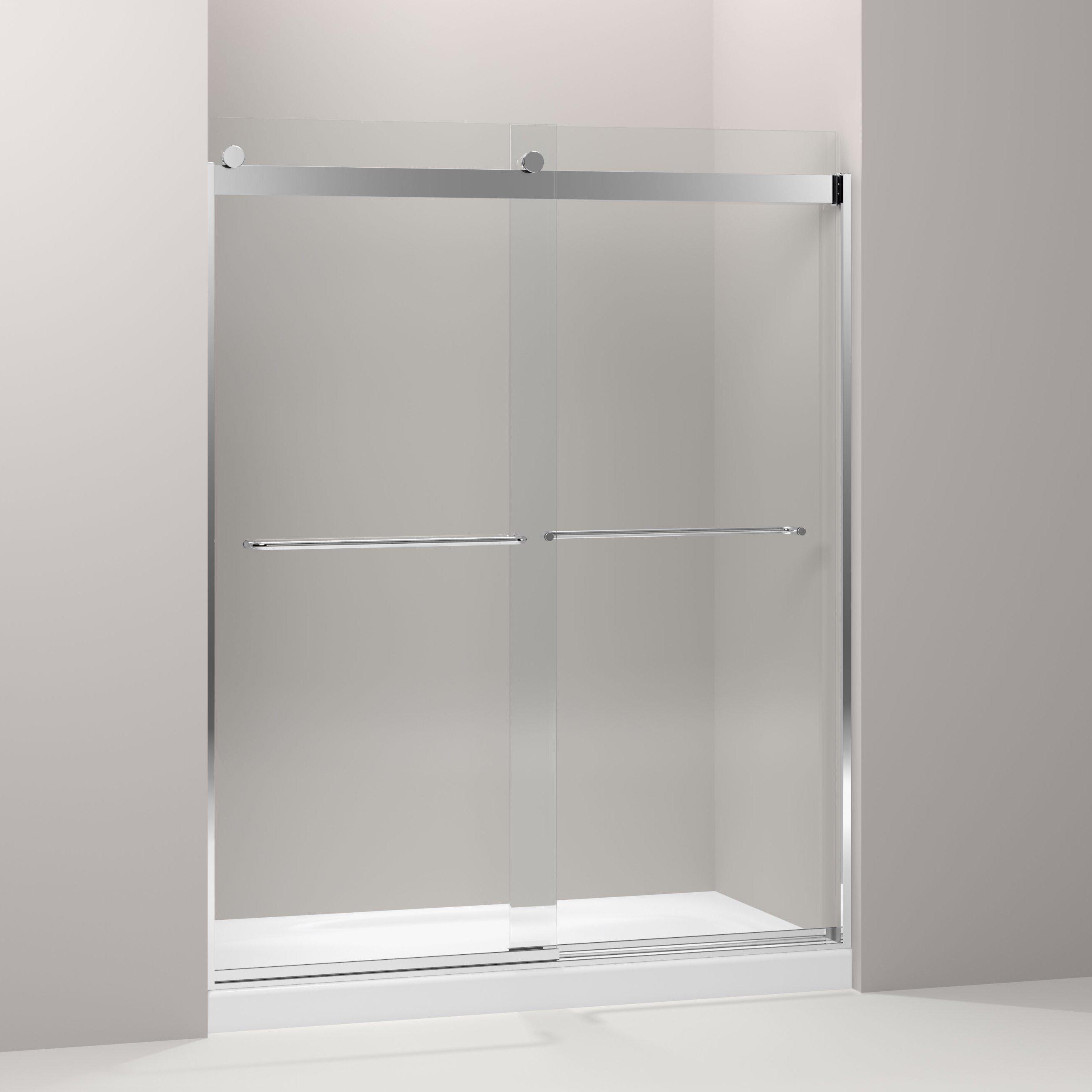 Kohler Levity 74 Quot X 59 63 Quot Sliding Shower Door Amp Reviews