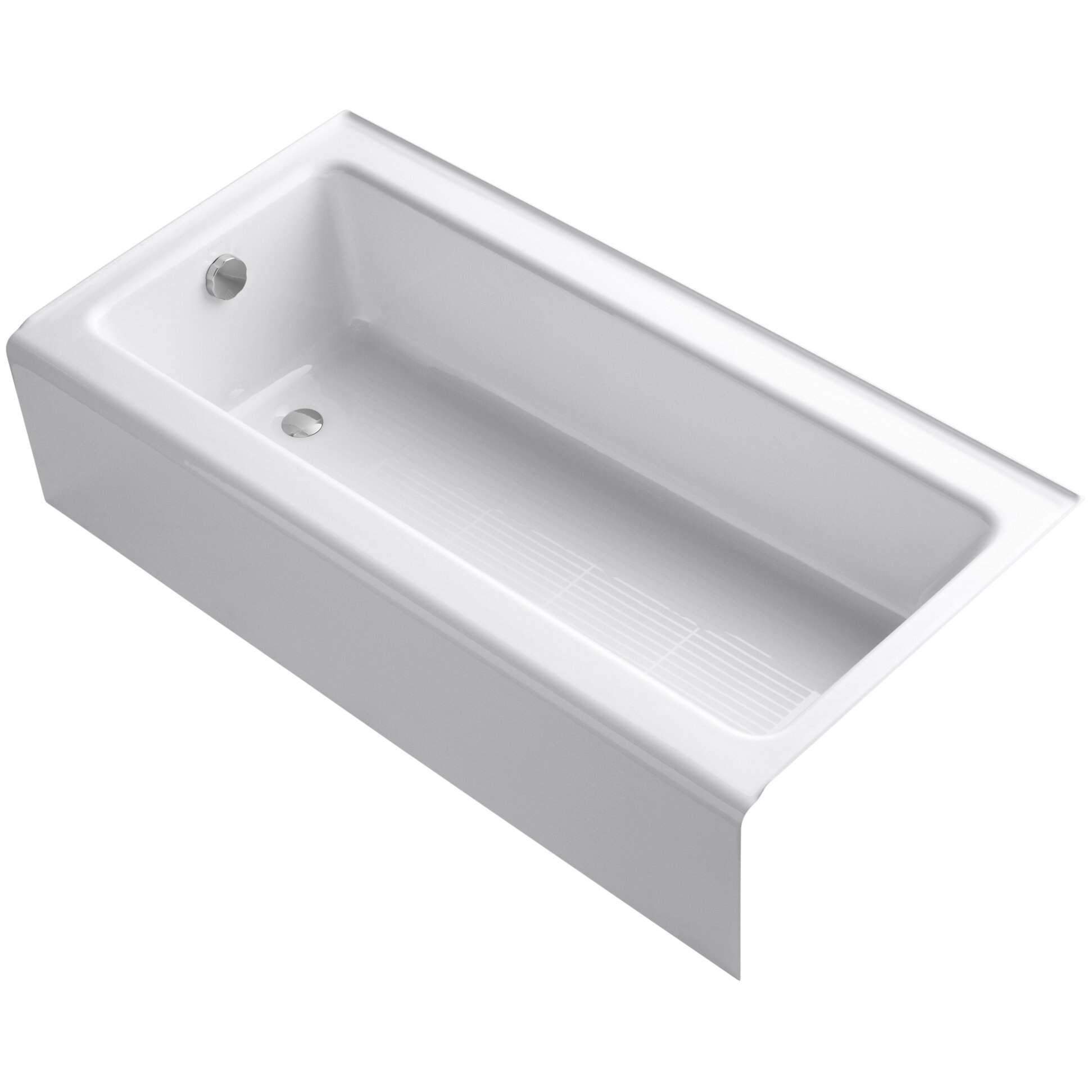 Kohler bellwether 60 x 30 bath with integral apron for Porte 60 x 60