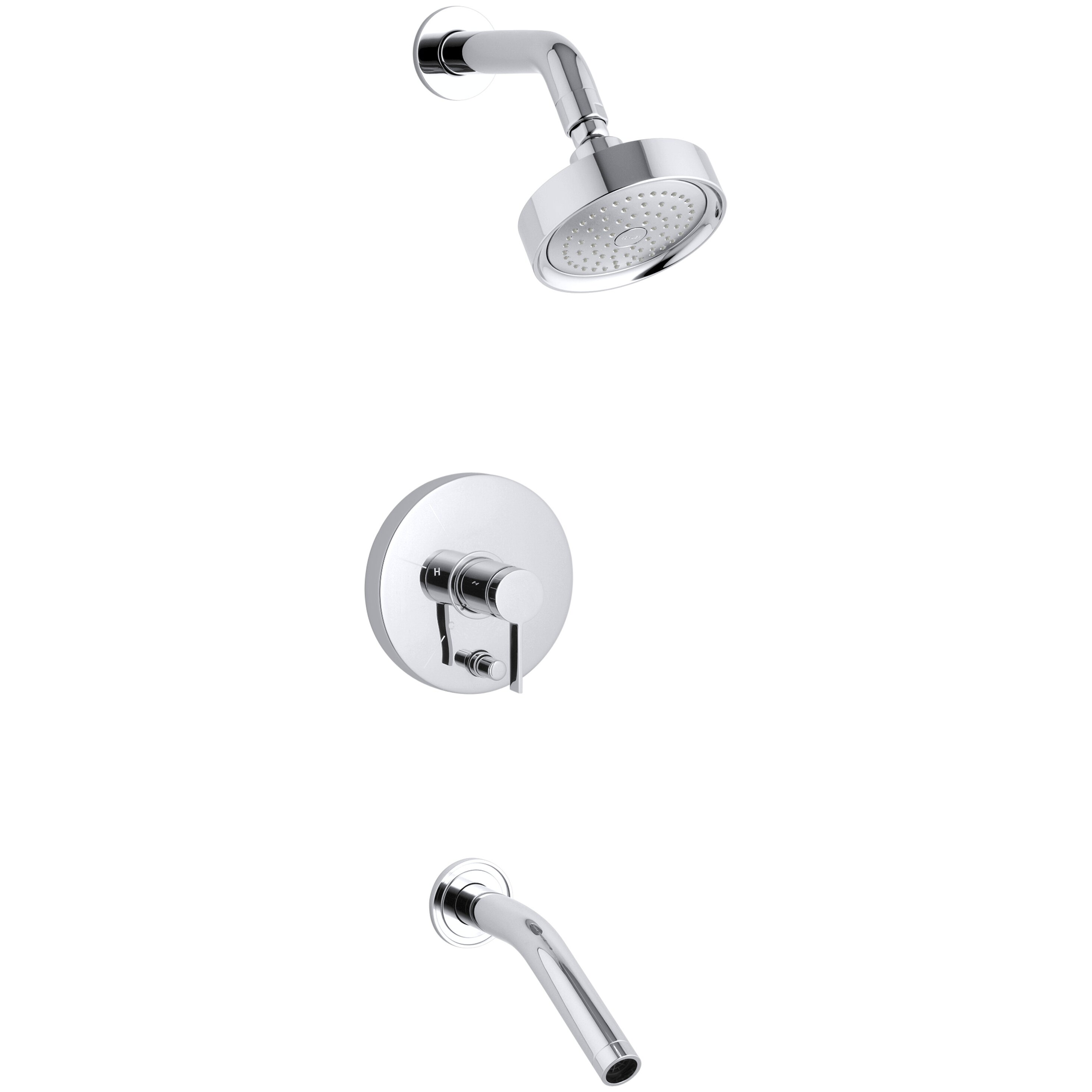 Kohler Shower Valve Parts Faucet Replacement Shower: Kohler Stillness Rite-Temp Pressure-Balancing Bath And