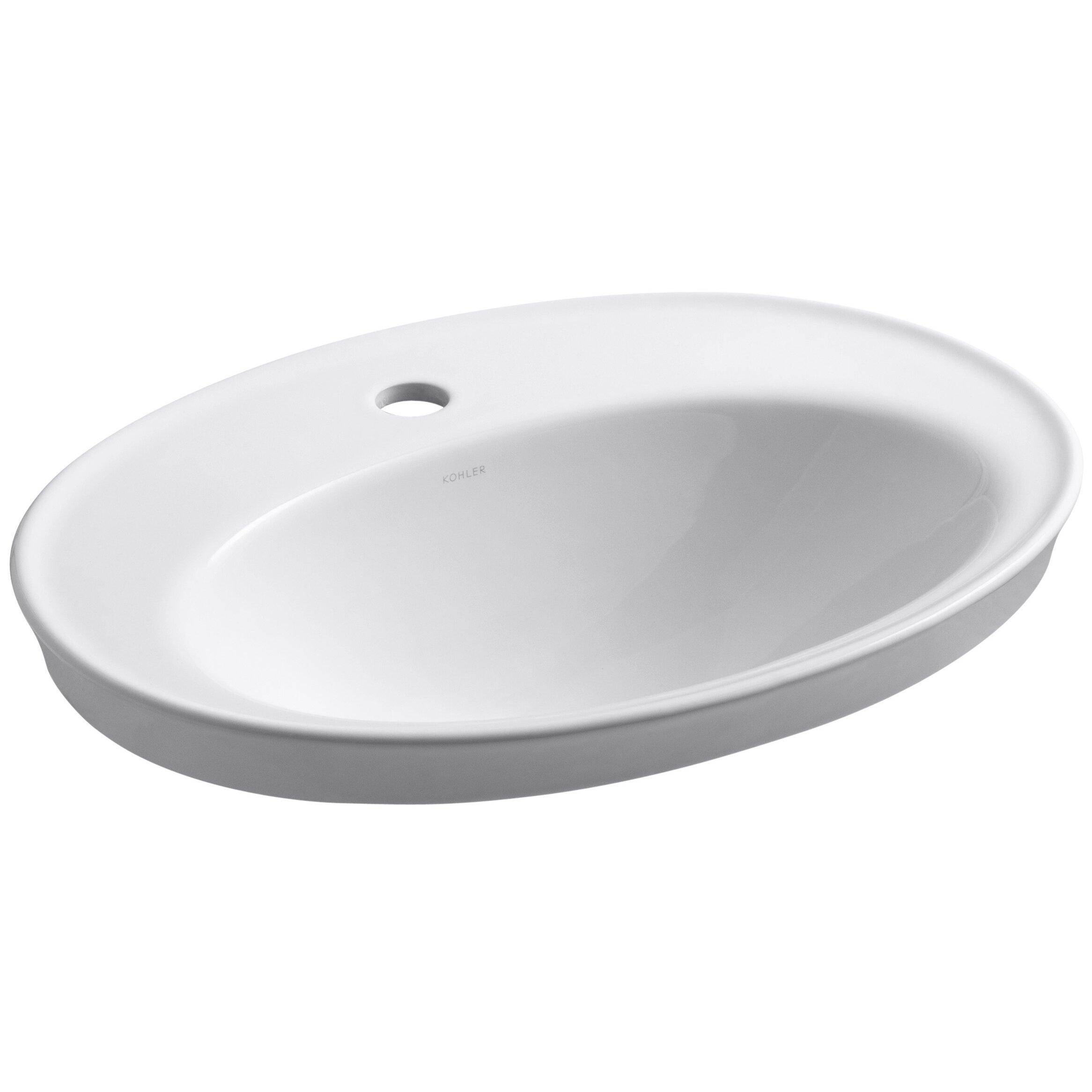 Kohler Serif Drop In Bathroom Sink Reviews Wayfair