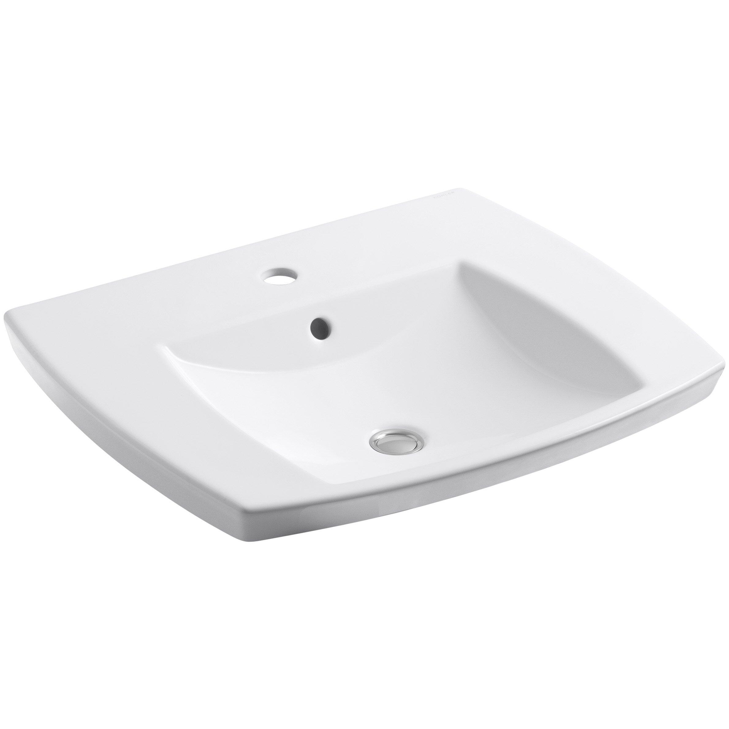 Kohler Kelston Drop-In Bathroom Sink & Reviews Wayfair