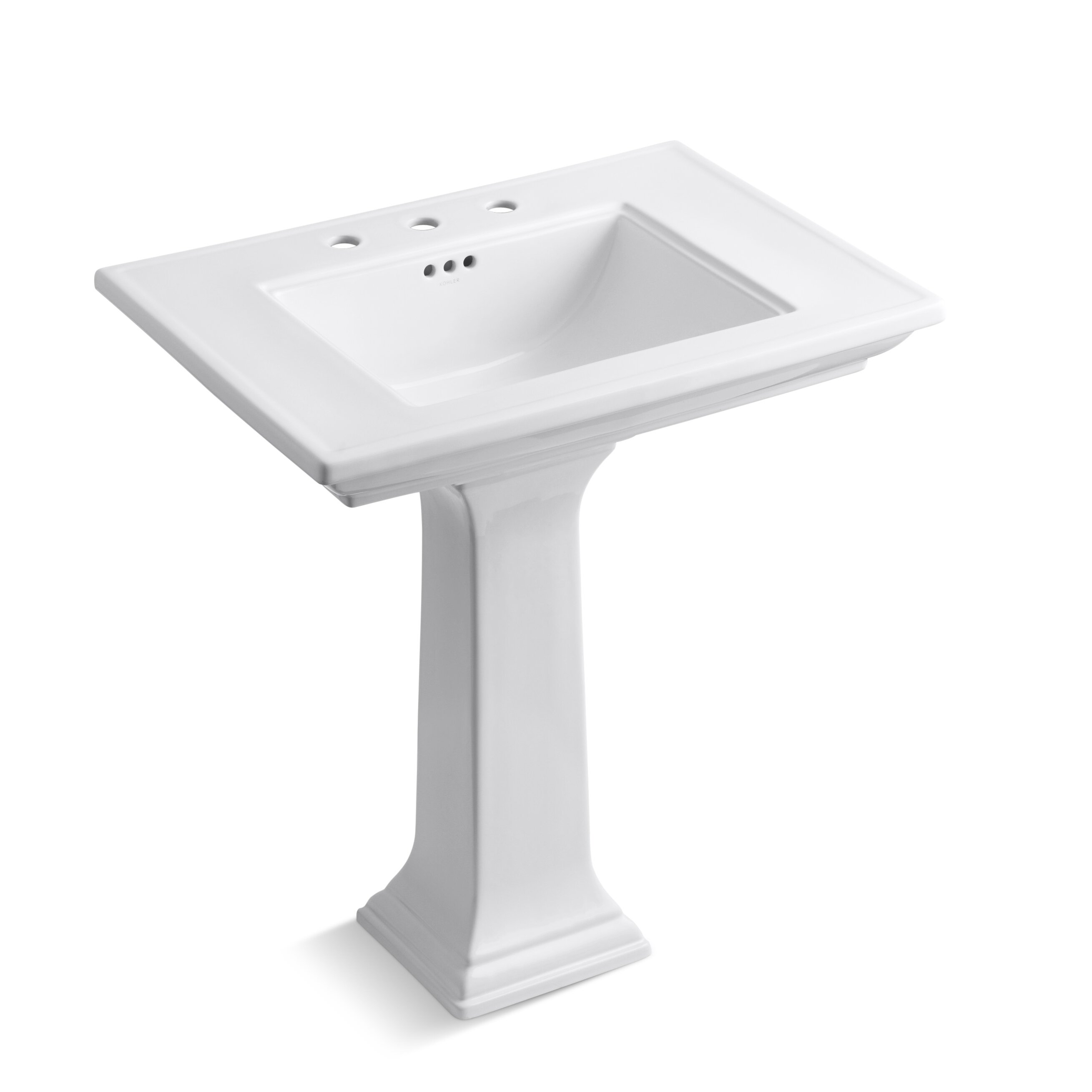 Kohler Memoirs Stately 30 Pedestal Bathroom Sink Reviews Wayfair