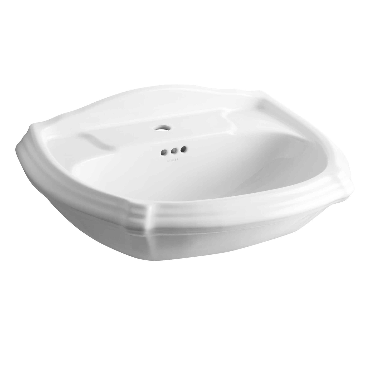 Kohler Portrait Pedestal Bathroom Sink Basin & Reviews Wayfair