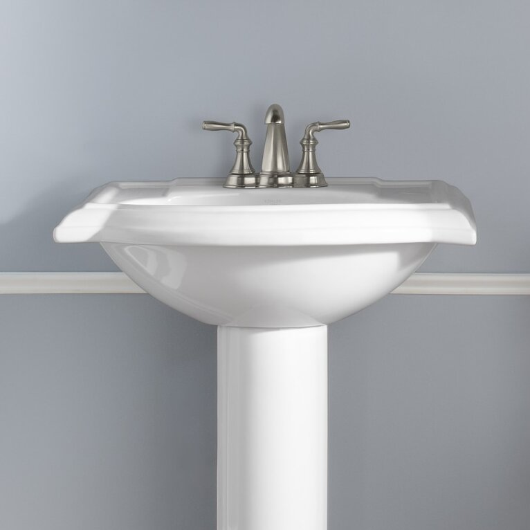 Kohler Devonshire Bathroom Sink with 4