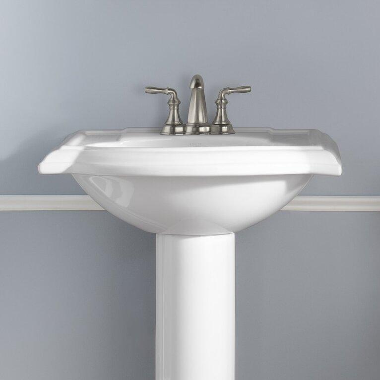 Devonshire Kohler Faucet : Kohler Devonshire Bathroom Sink with 4