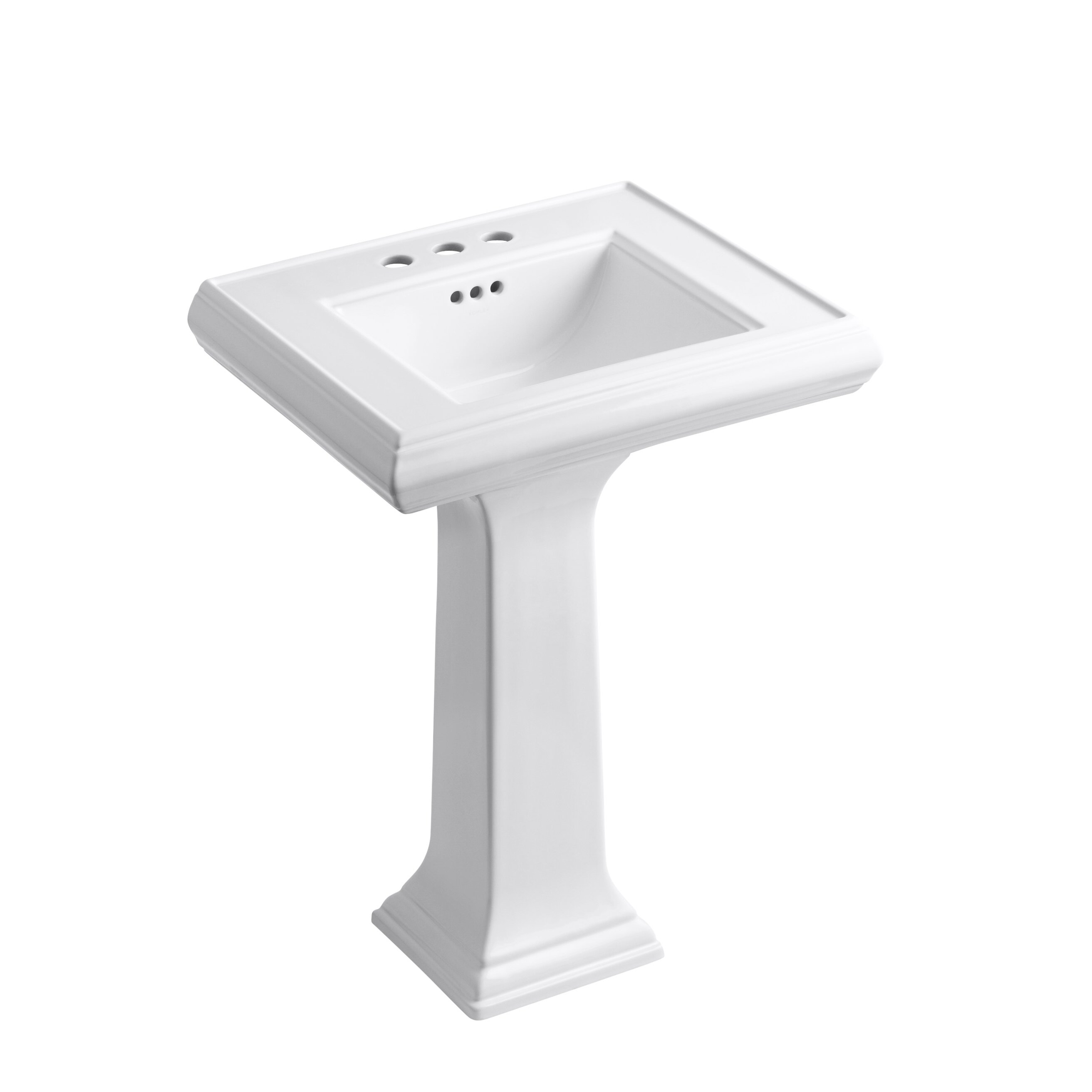 kohler memoirs undermount bathroom sink kohler memoirs classic 24 quot pedestal bathroom sink 23586
