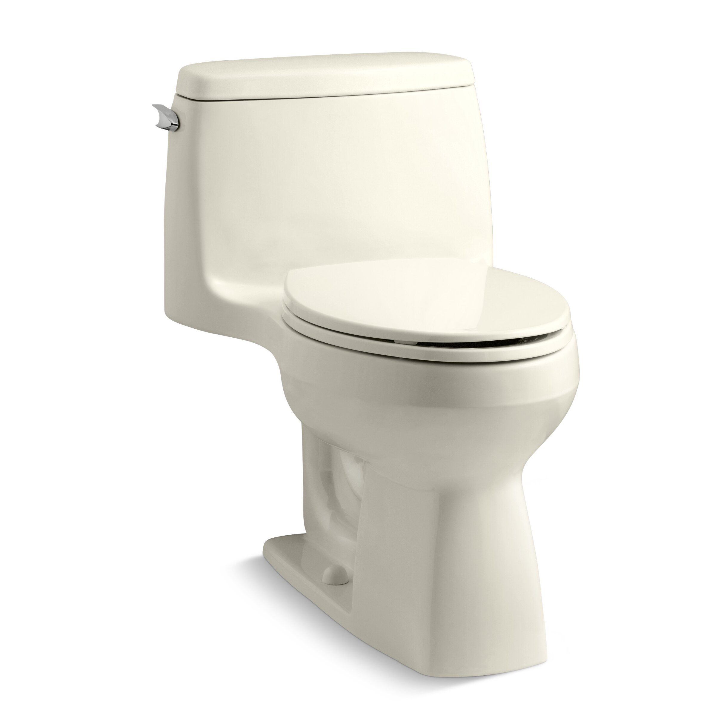 Kohler Santa Rosa >> Kohler Santa Rosa Comfort Height Compact 1.28 GPF Elongated 1 Piece Toilet & Reviews | AllModern