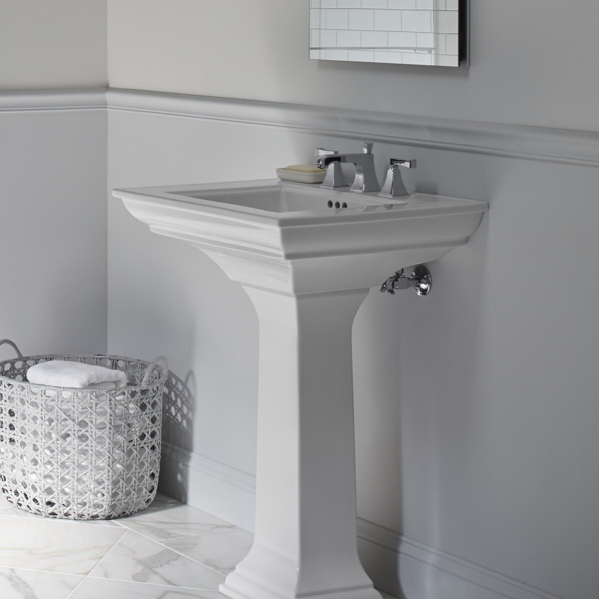 kohler memoirs undermount bathroom sink kohler memoirs bathroom sink pedestal amp reviews wayfair 23586
