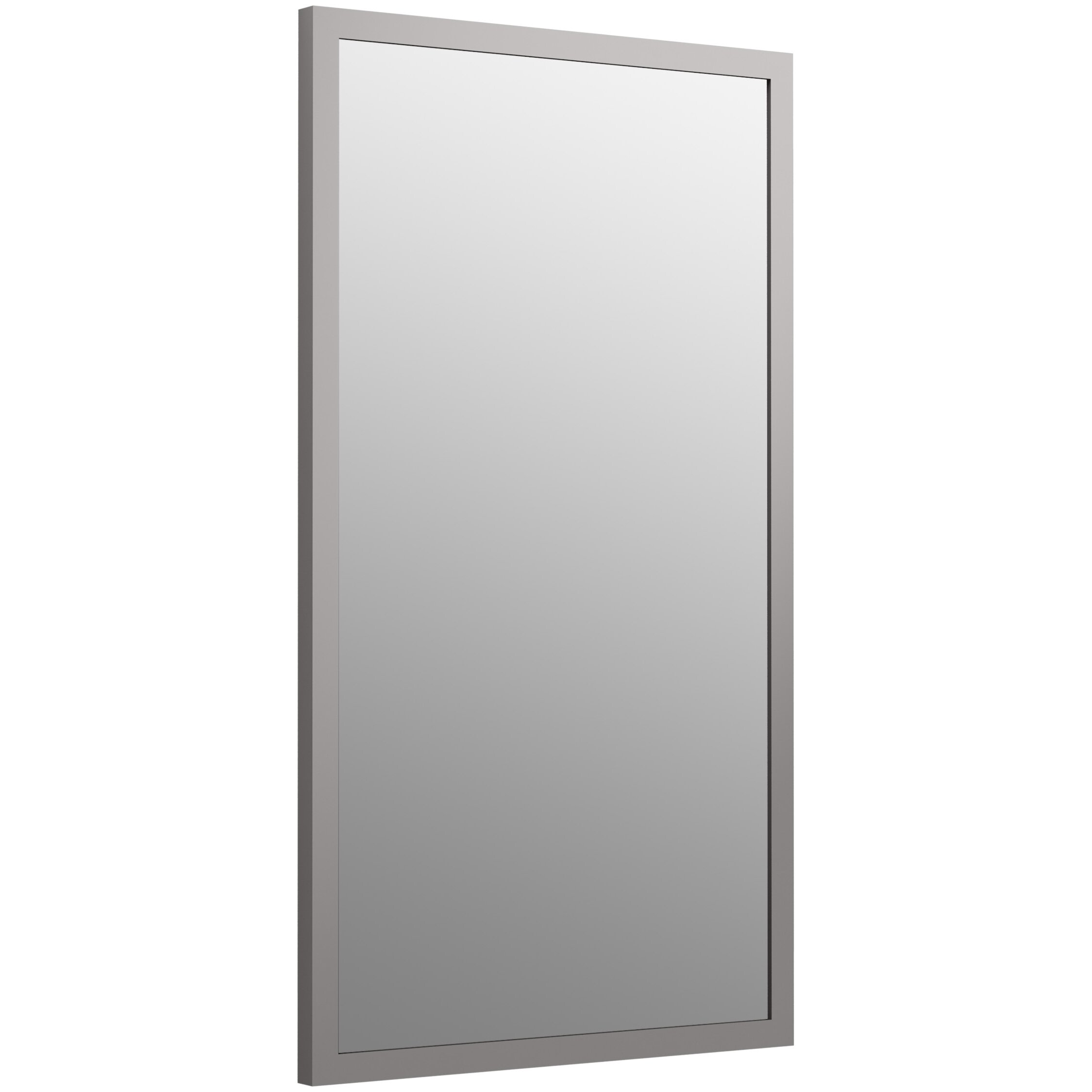 Perfect KOHLER Provinity 34in H X 28in W Vellum Rectangular Bathroom Mirror