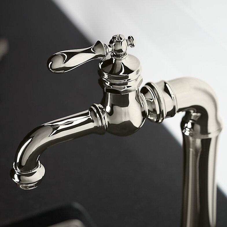 Kohler Bar Sink Faucet : Home Improvement Kitchen Fixtures ... Chrome Kitchen Faucets Kohler ...