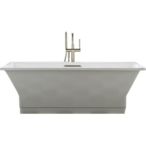 Kohler Reve 67 Quot X 36 Quot Freestanding Bathtub With Brilliant