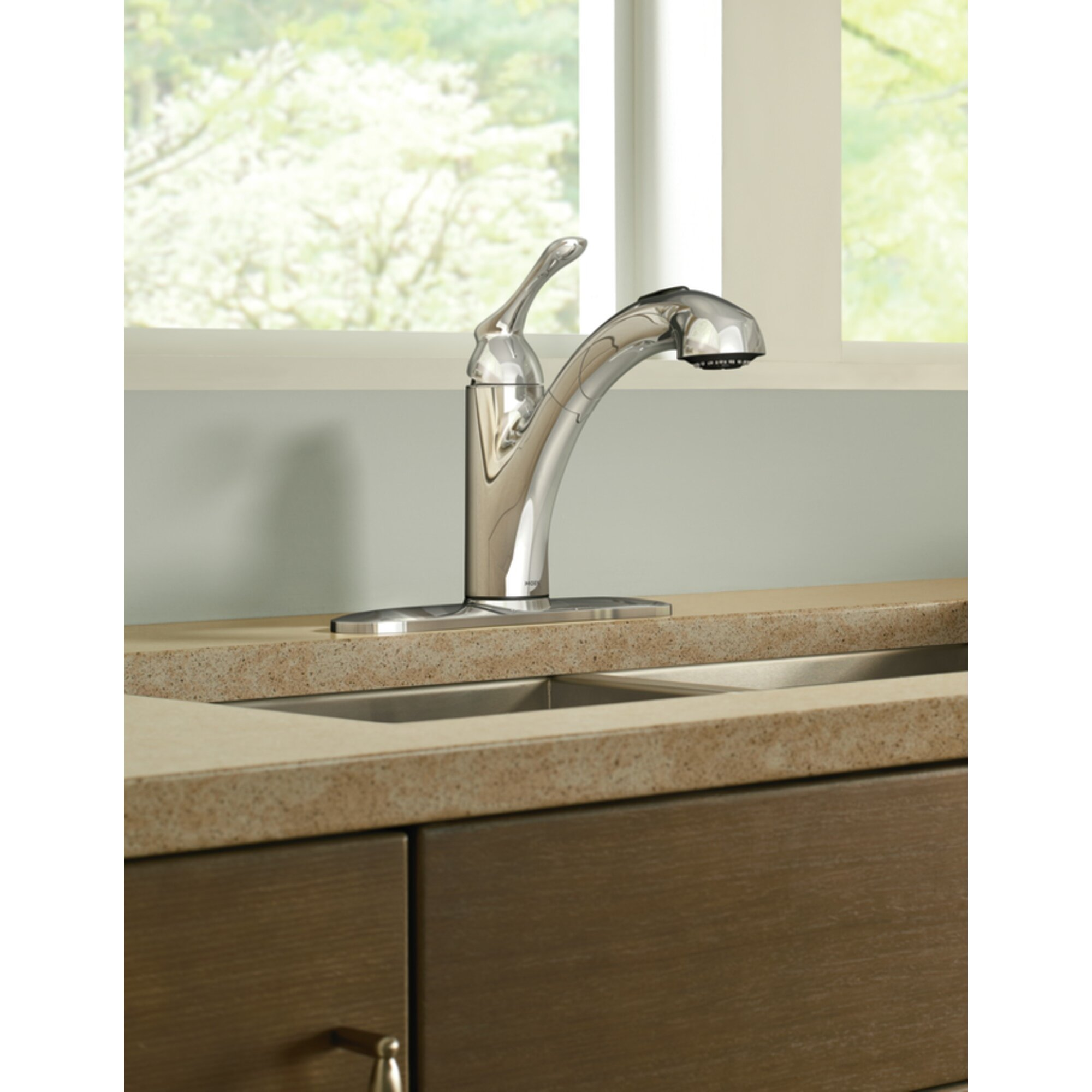 Moen Banbury Single Handle Deck mounted Kitchen Faucet