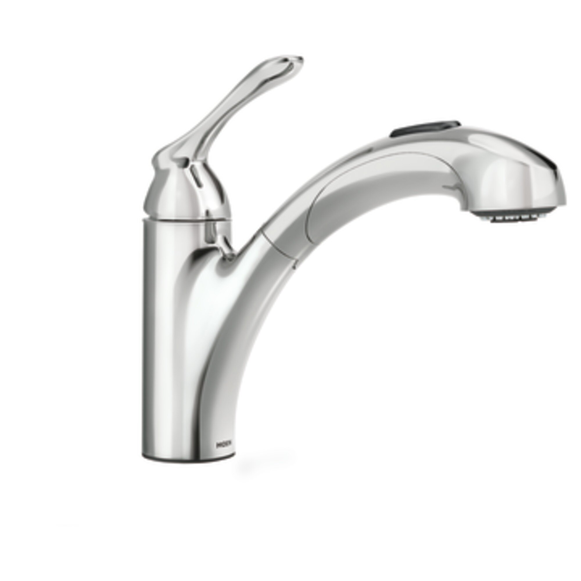 single handle kitchen faucets moen banbury single handle deck mounted kitchen faucet reviews wayfair 6452
