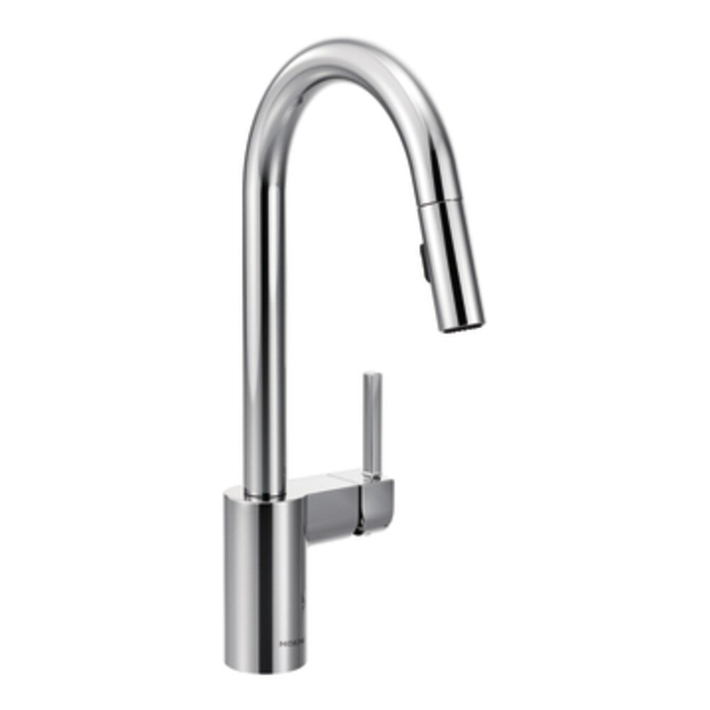 moen align single handle kitchen faucet amp reviews wayfair moen arbor single handle single hole kitchen faucet