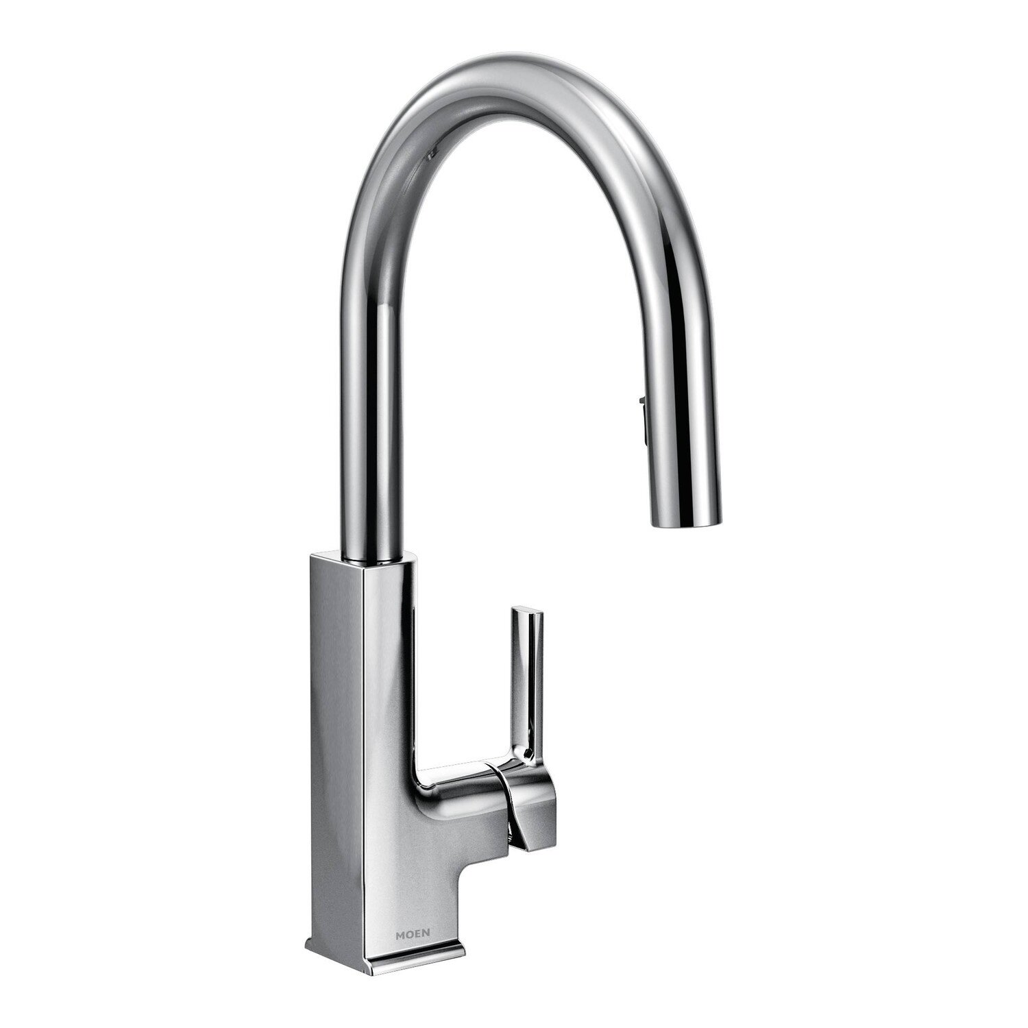 Moen STo Single Handle Deck mount Kitchen Faucet & Reviews
