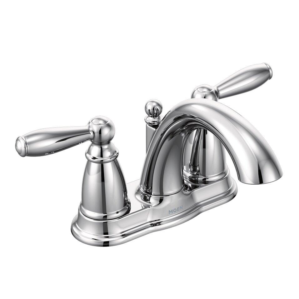 Moen Brantford Two Handle Centerset Bathroom Faucet Reviews Wayfair