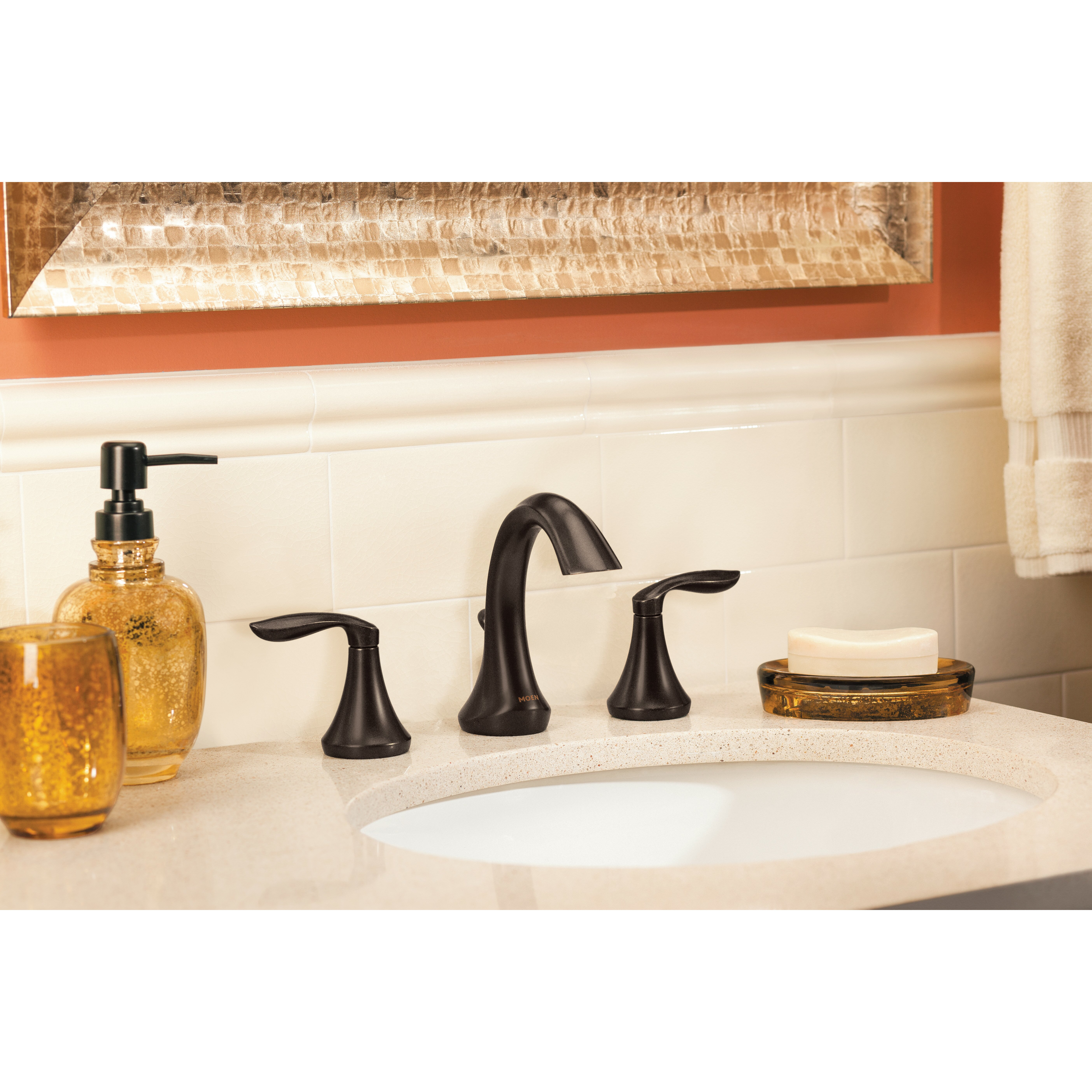 Moen Eva Double Handle Widespread Bathroom Faucet Reviews Wayfair Supply