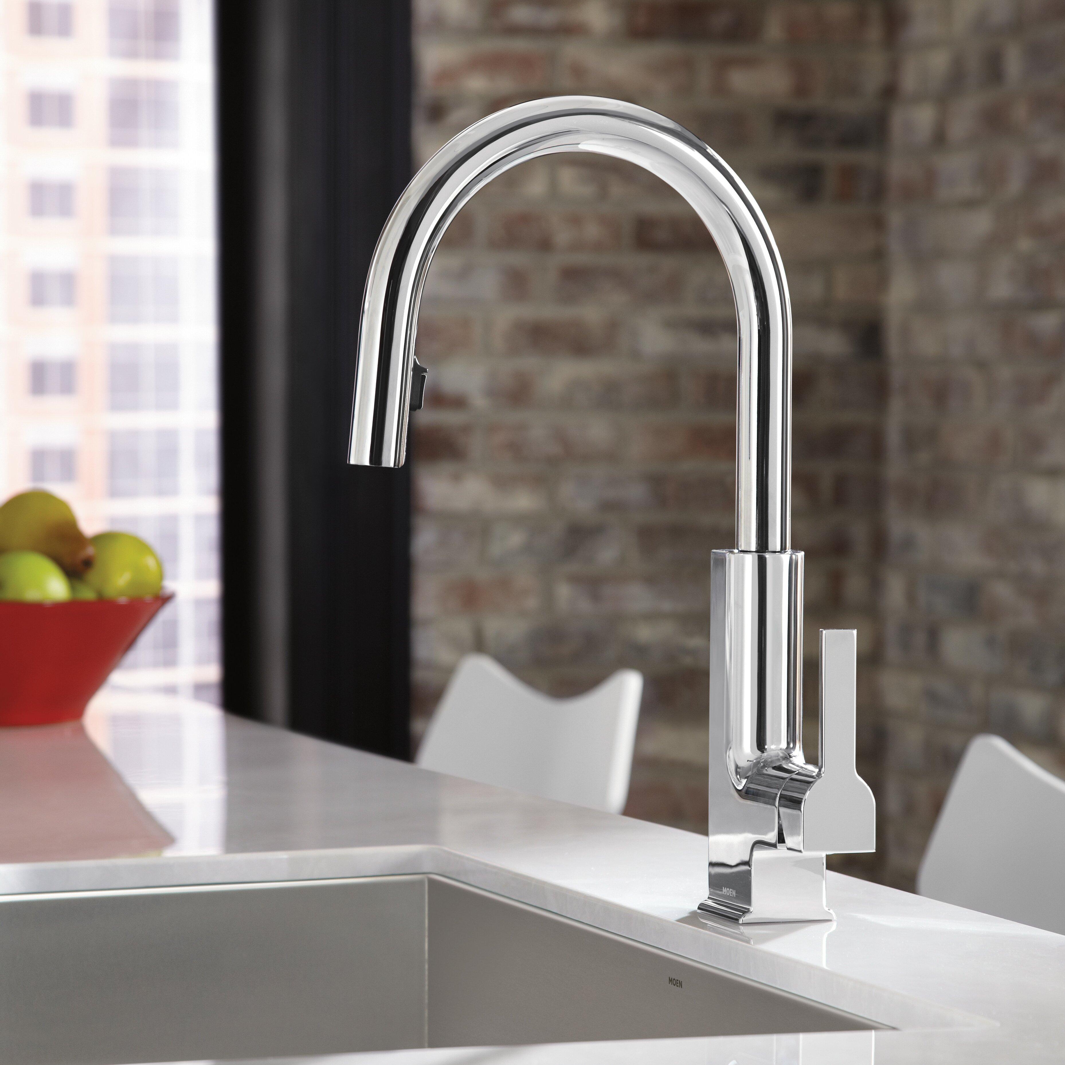 moen sto single handle deck mount kitchen faucet reviews